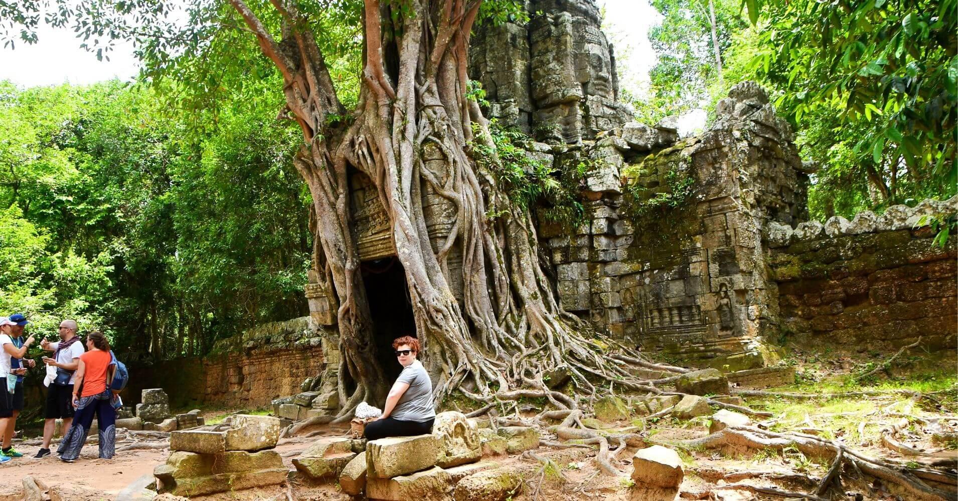 Templo de Ta Som. Siem Reap. Camboya.