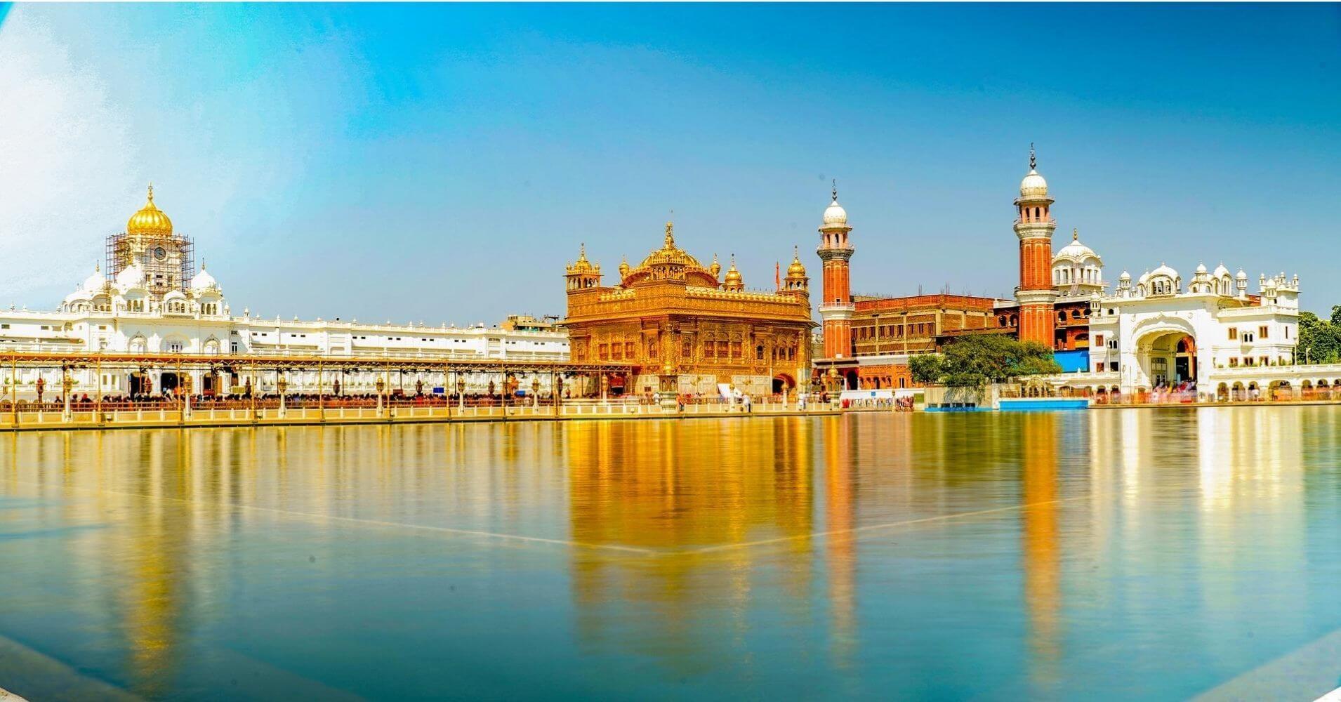 Amristar. Templo de Oro. India.