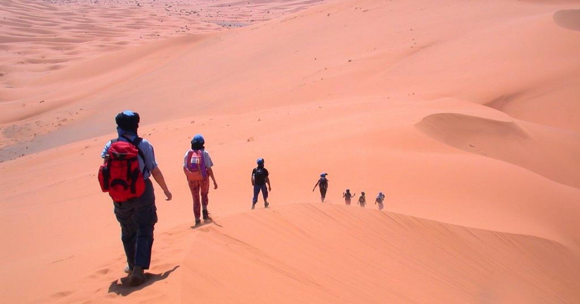 Aventuras en Marruecos. Desierto de Merzuga.