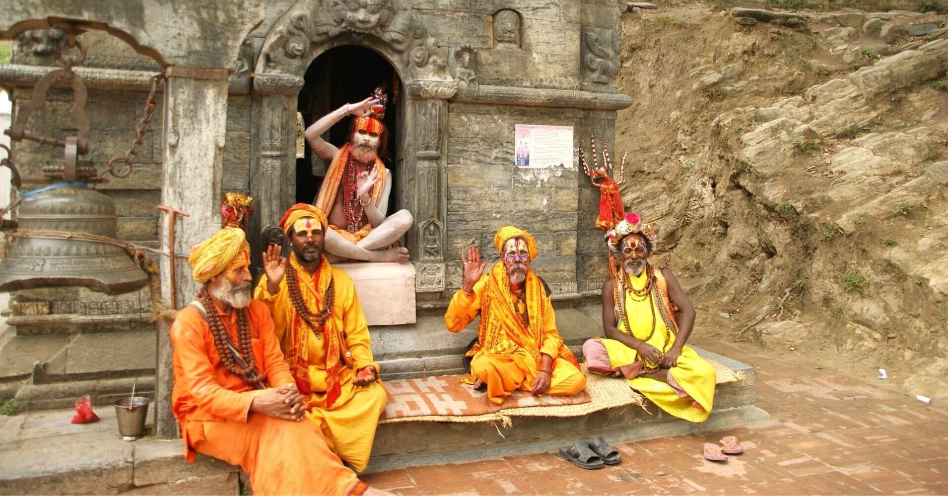 Baba, Sadhus en Katmandú.
