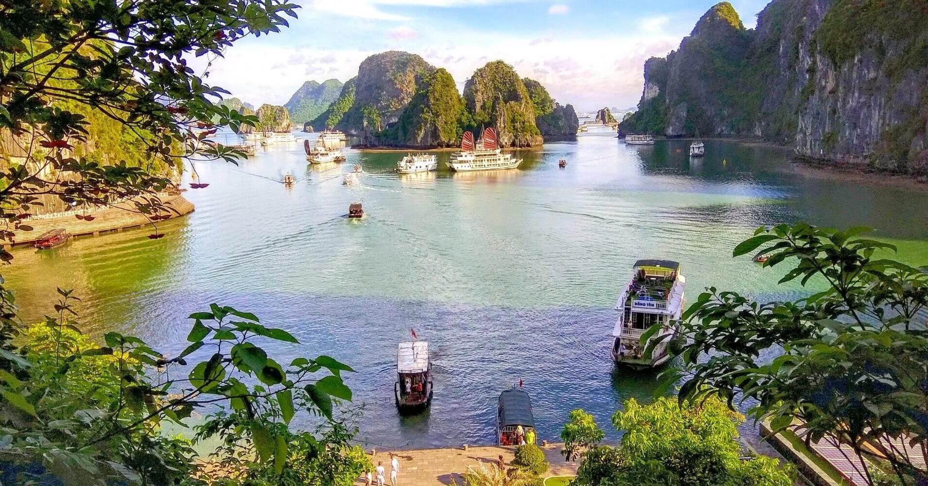 Bahía de Halong. Vietnam.