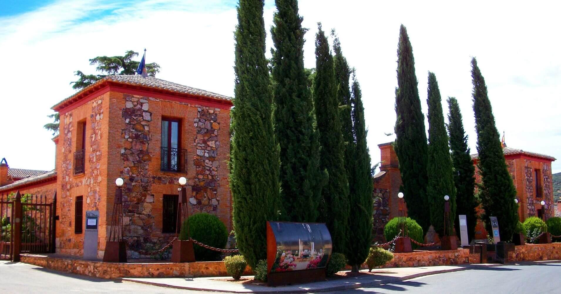 Ballesteros de Calatrava. Palacio de la Serna, Ciudad Real. Castilla la Mancha.