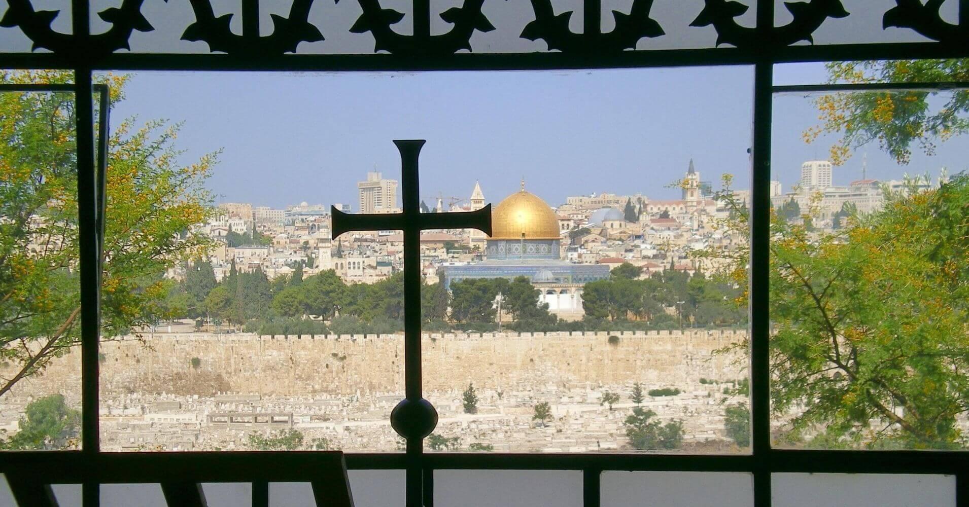 Basílica del Prendimiento. Monte de los Olivos. Jerusalem.