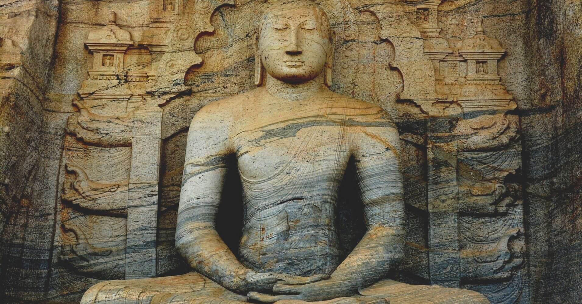 Buda, Sri Lanka. Asia.