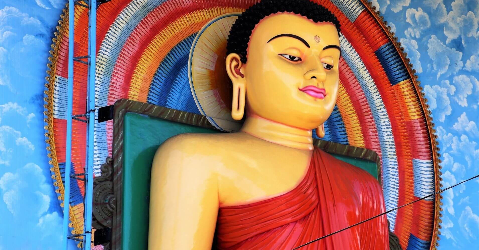 Buda, Sri Lanka.