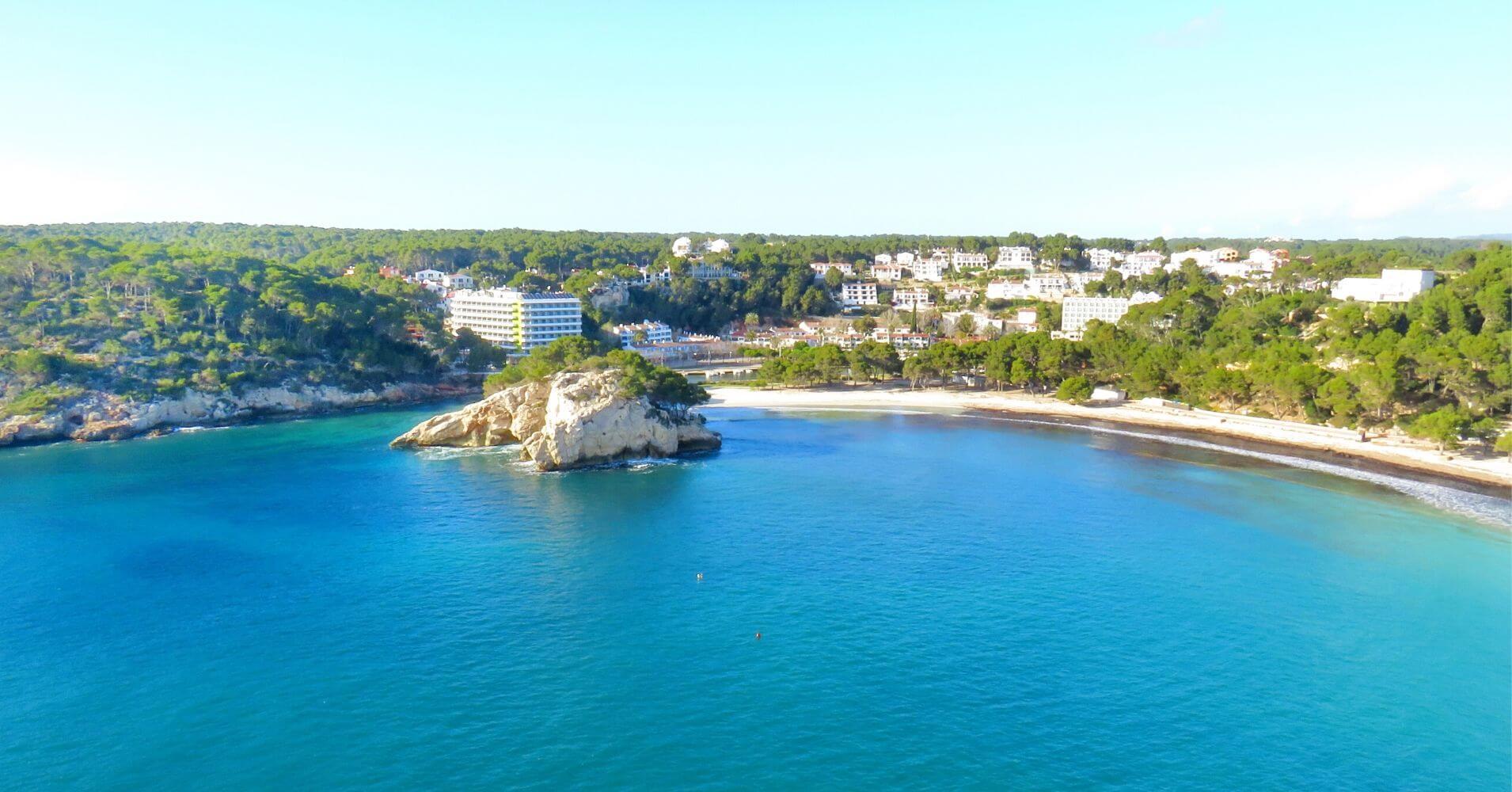 Cala Galdana, Isla de Menorca. Baleares.