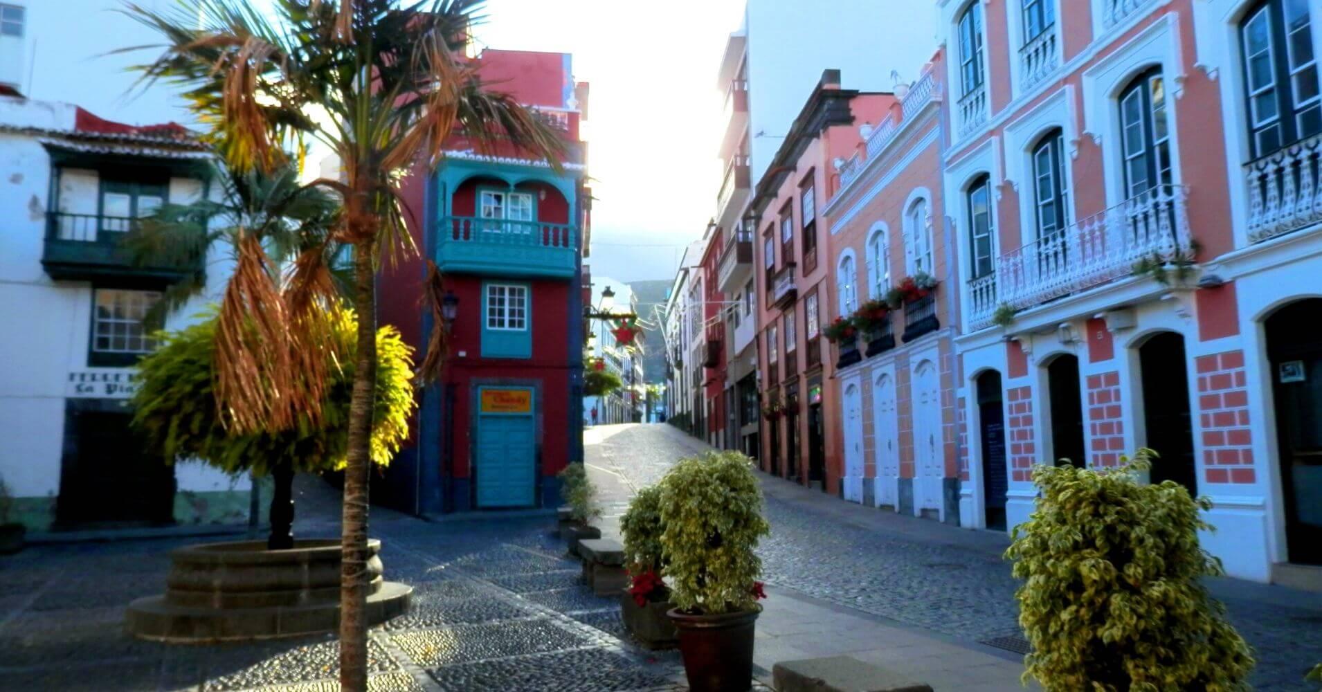 Calle O' Daly, La Palma a Ritmo Lento. Santa Cruz de La Palma. Islas Canarias.