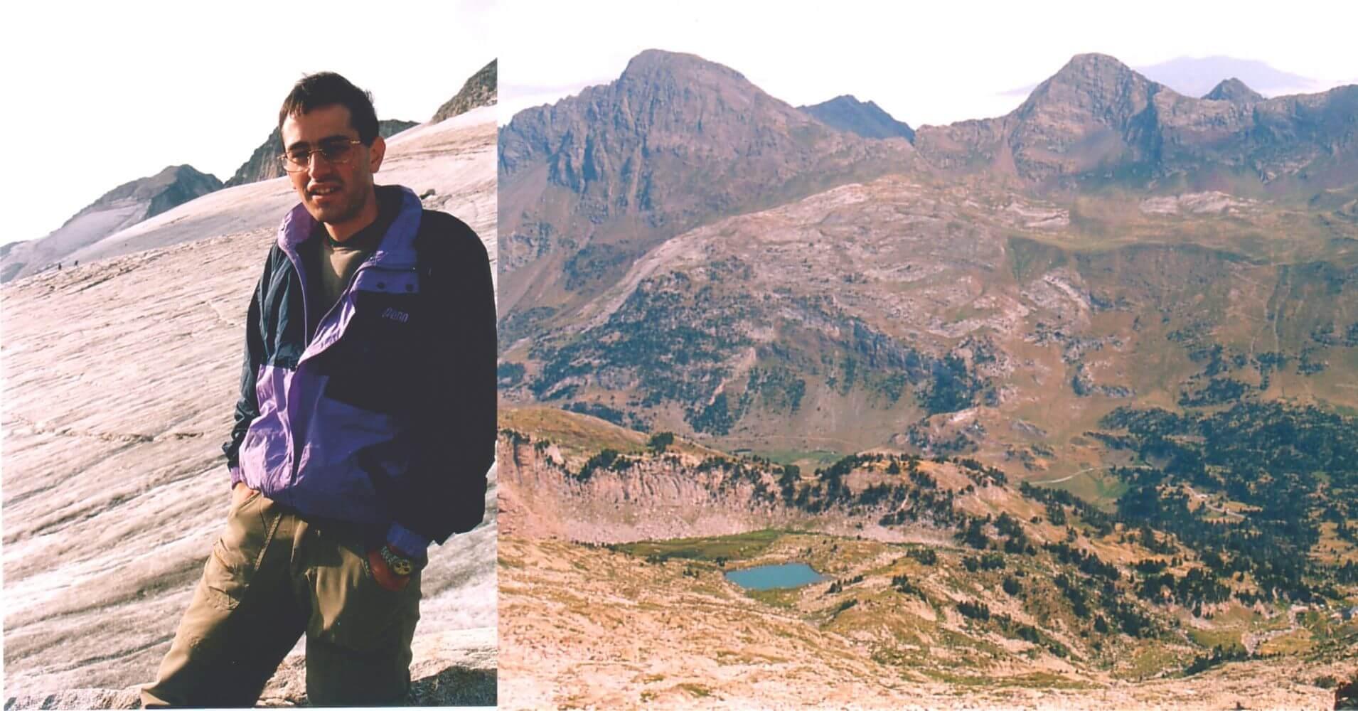Camino de la Cumbre del Pico Aneto. Benasque, Huesca. Aragón.