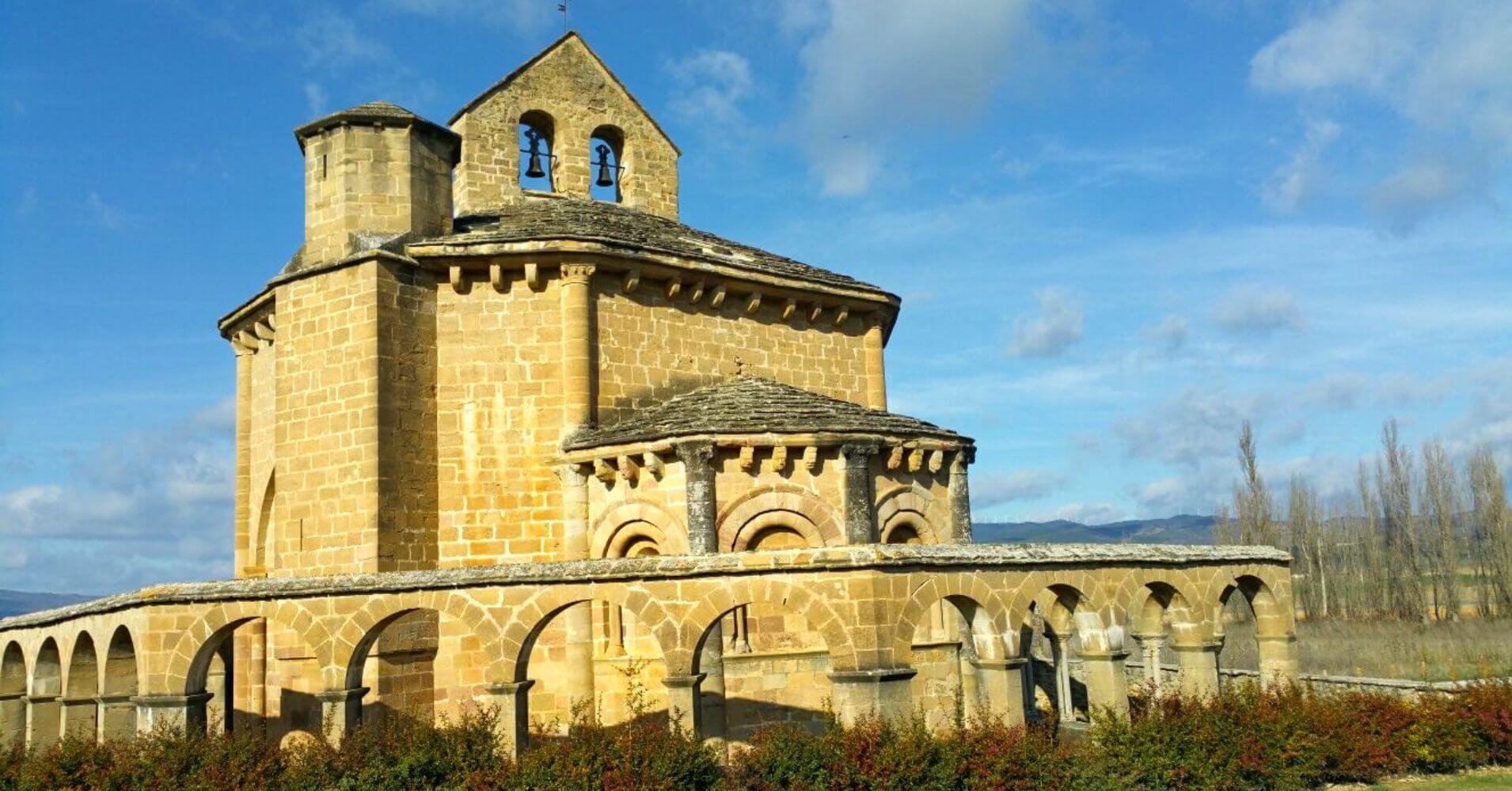 Camino de Santiago Aragonés 6. Ermita de Nuestra Señora de Eunate, Muruzábal. Navarra.