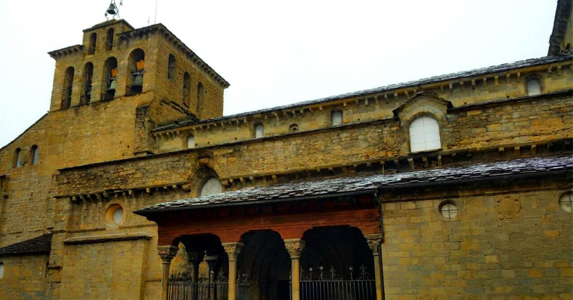 Camino de Santiago Aragonés. Jaca, Aragón.