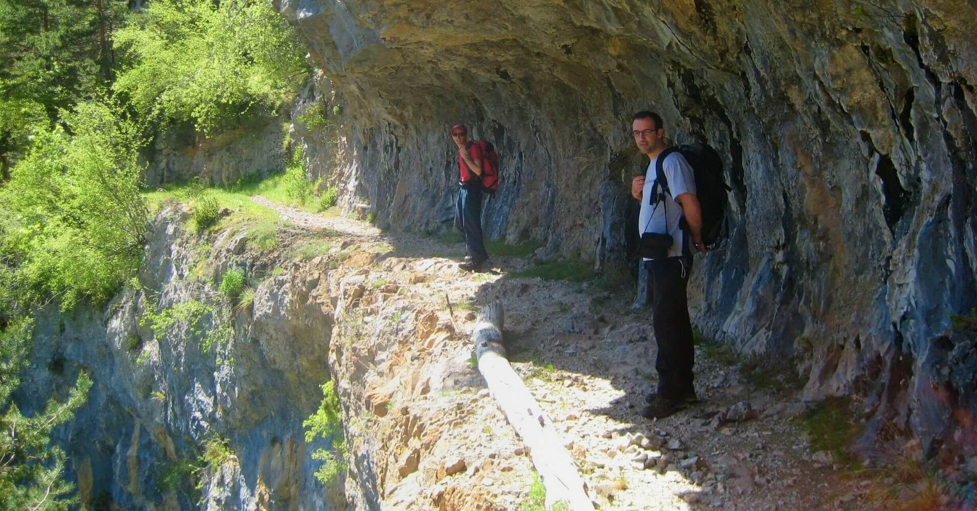 Ruta del PR HU 137 Bielsa, Tella. Huesca, Aragón.
