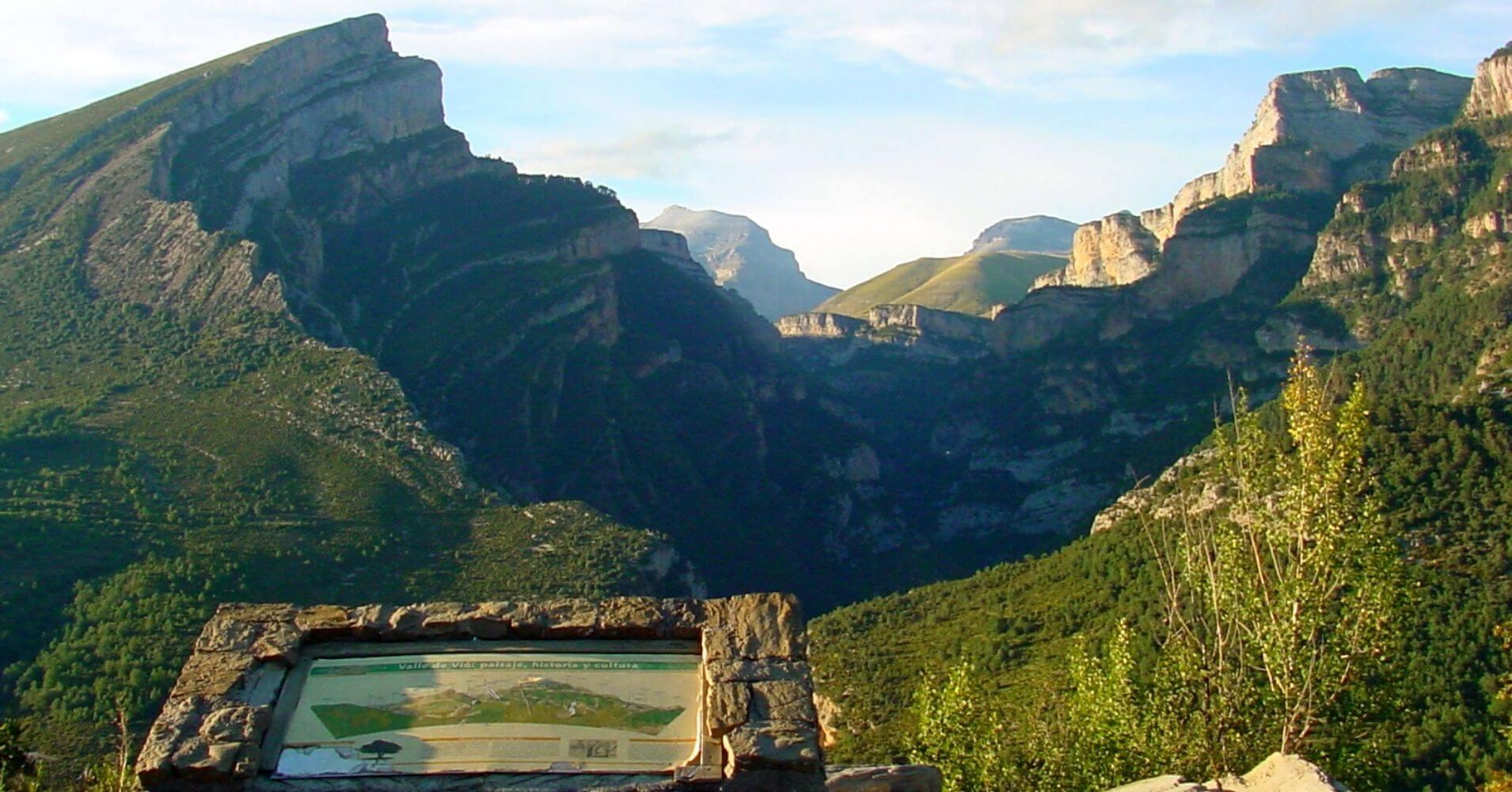 Cañón de Añisclo. Parque Nacional de Ordesa. Huesca.