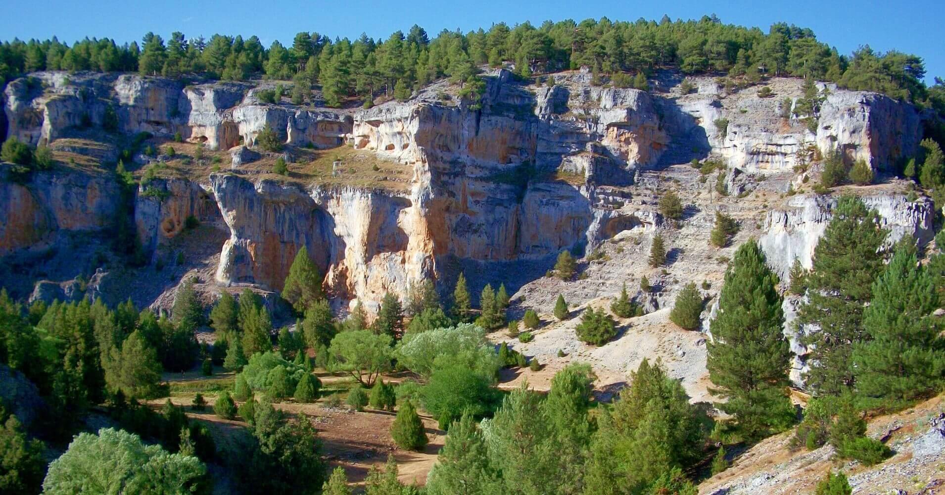 Cañón del río Lobos Soria, Burgos. Castilla y León.