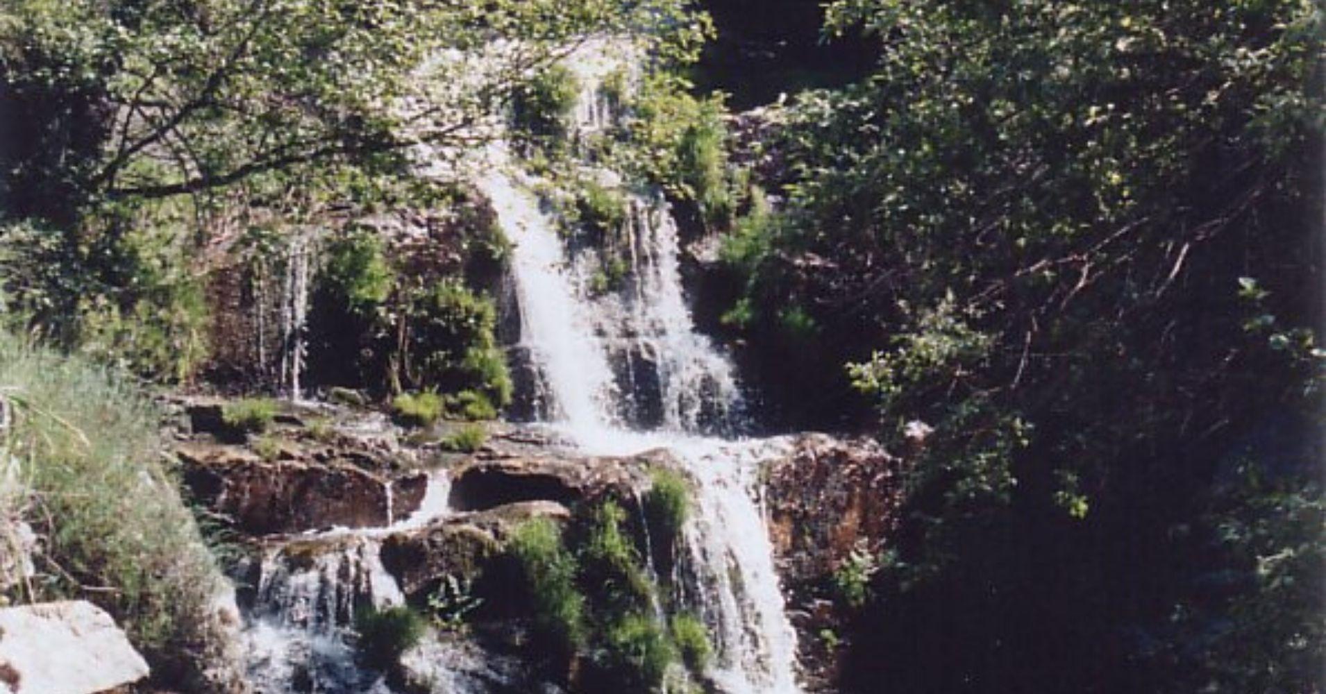 Cascada Garganta del Charco de la Hoya, La Adrada. Ávila.