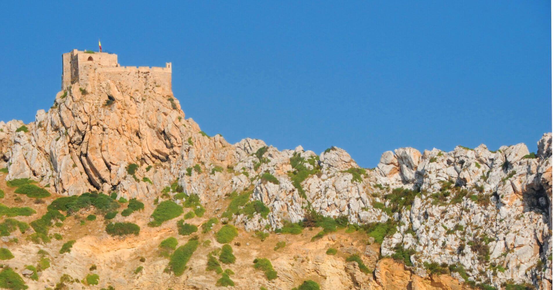 Castillo de Cabrera. Baleares, Isla de La Cabrera.
