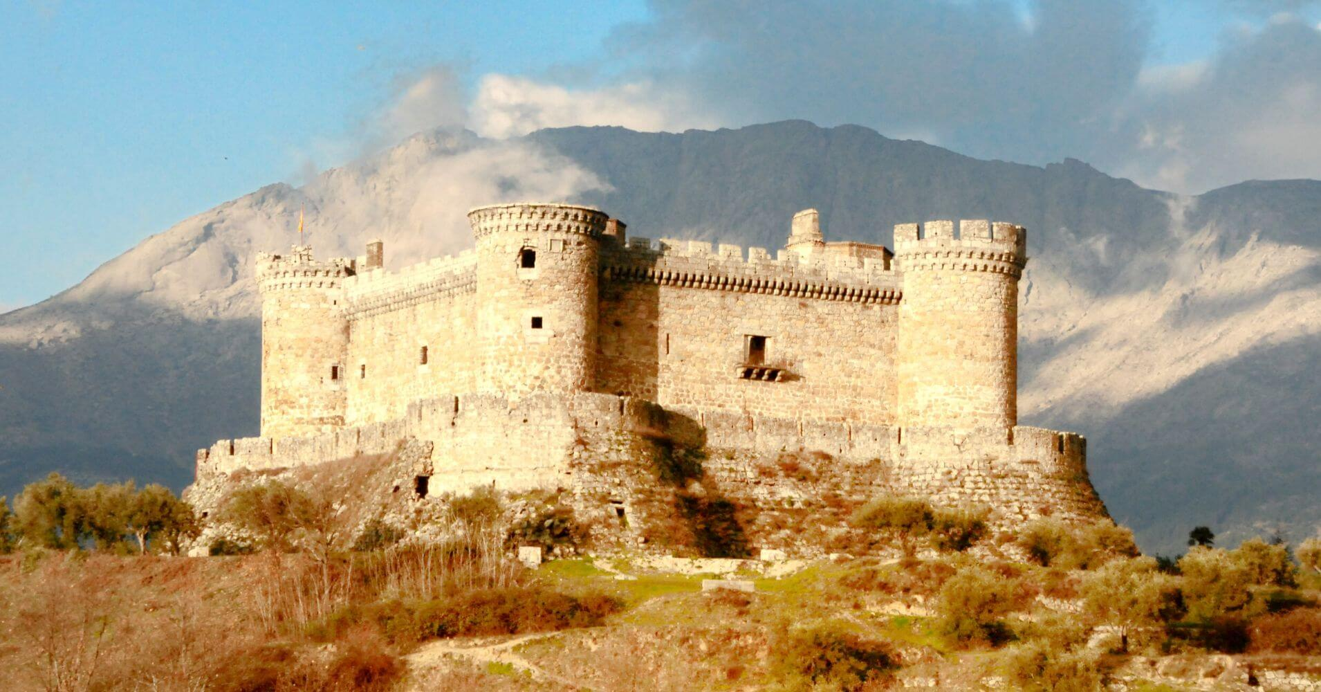 Castillo de Monbeltrán. Ávila. Castilla y León.