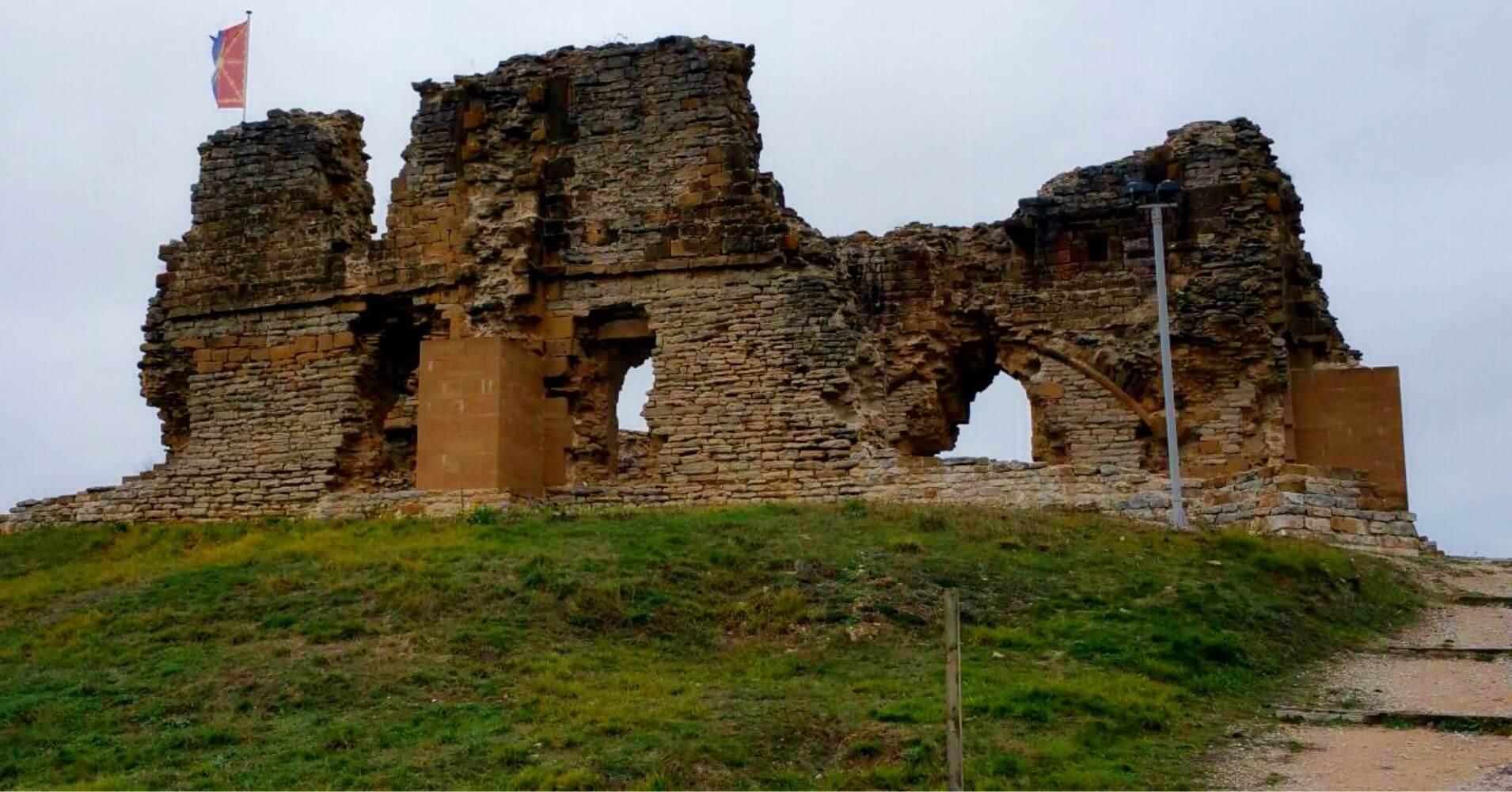 Castillo de Tiebas. Navarra.
