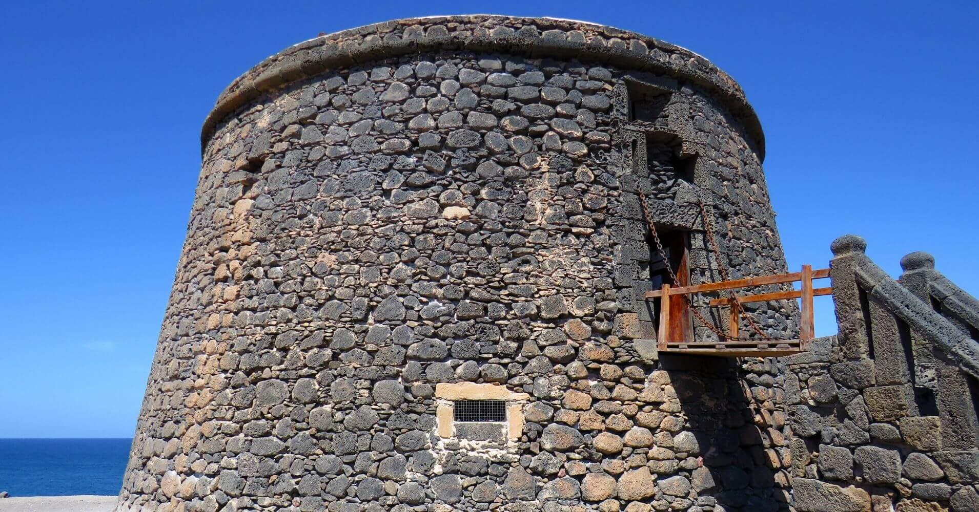 Castillo el Tostón. Isla de Fuerteventura. Islas Canarias.