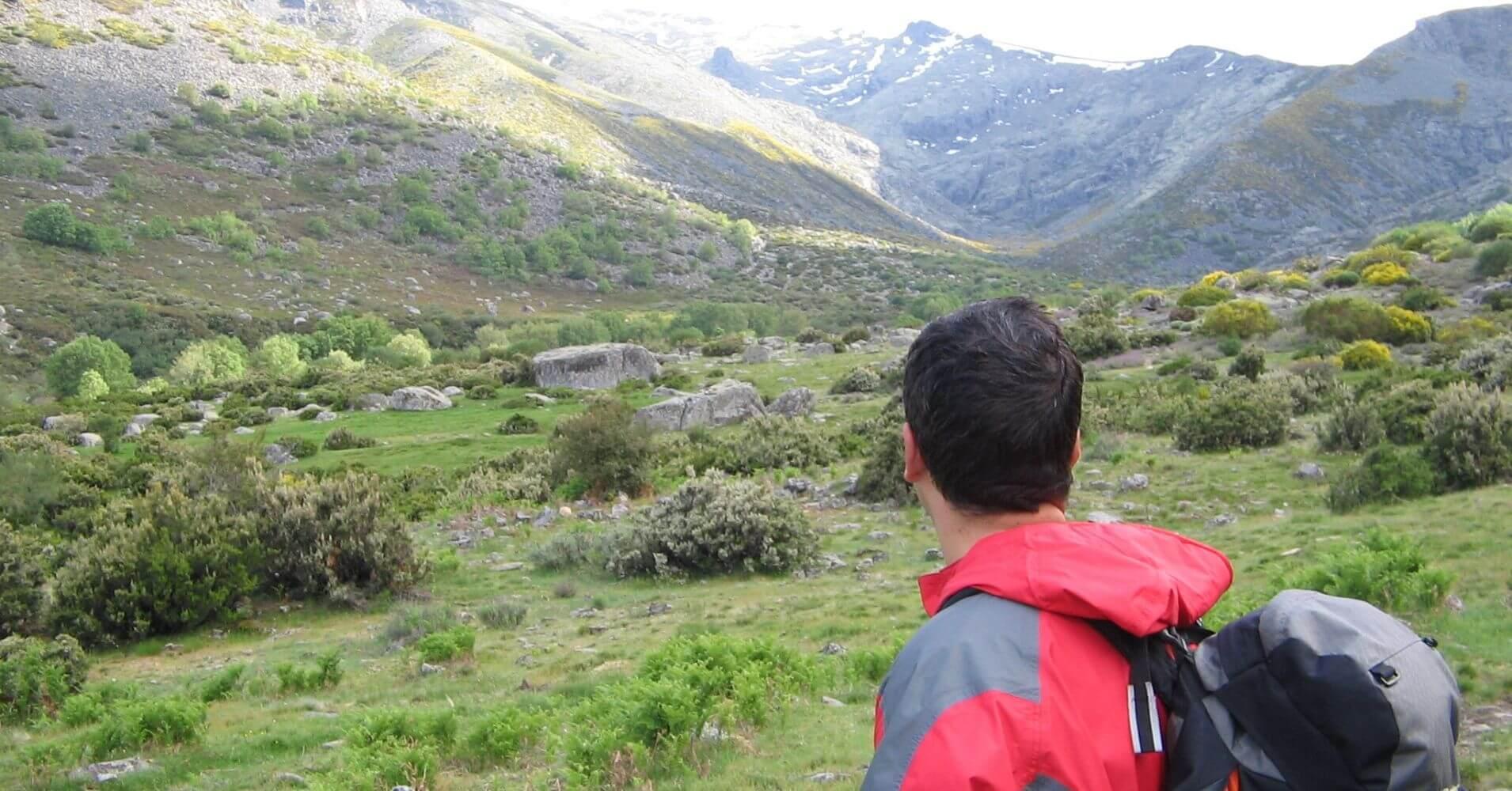 Cerro de la Camocha. Ruta de Senderismo PR AV 40. Navalguijo. Ávila. Castilla y León.
