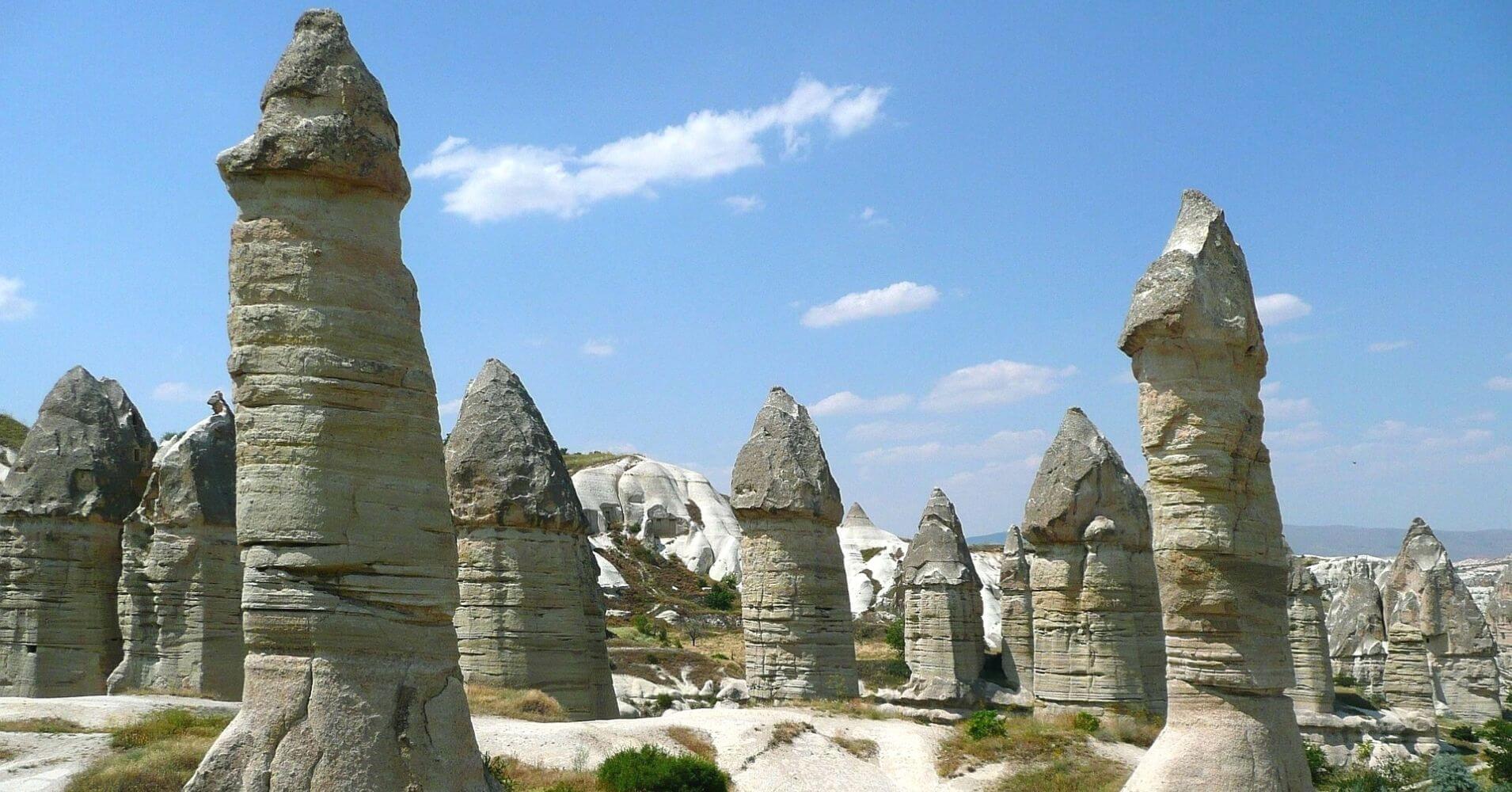 Chimeneas de las Hadas. Capadocia, Turquía. Asia.