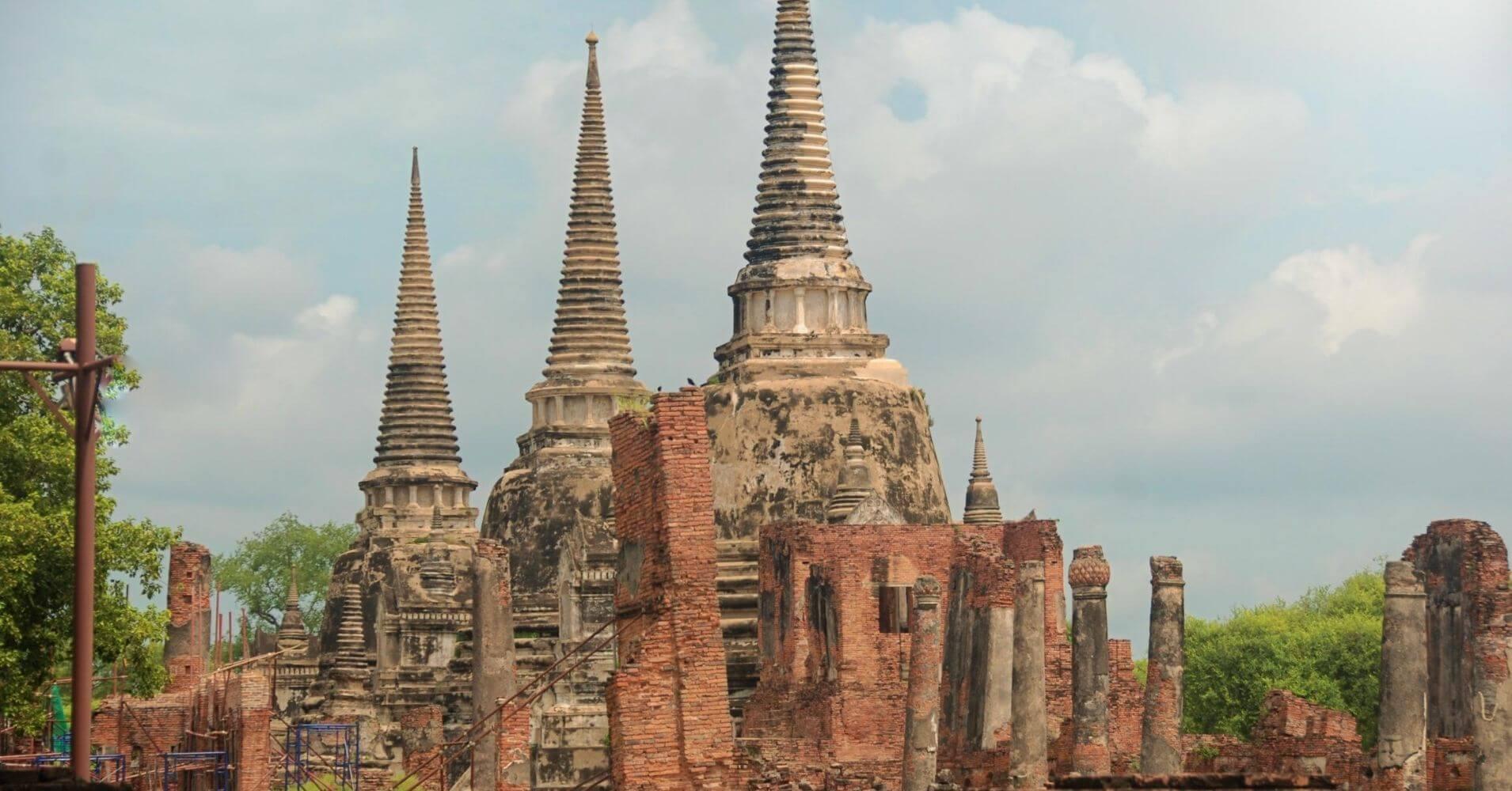 Ciudad de Ayutthaya. Tailandia.