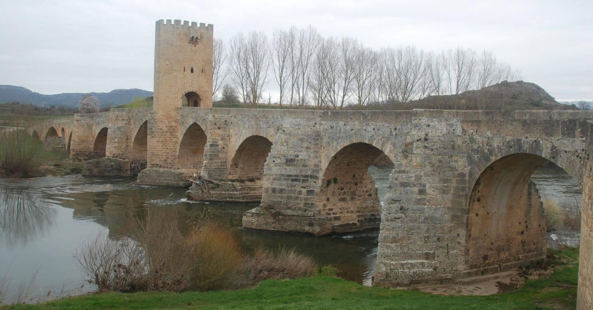 Puente Medieval de Frías. Burgos. Castilla y León.