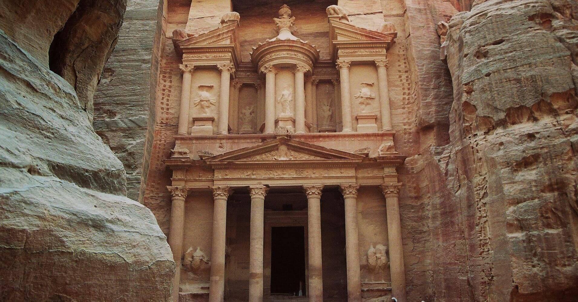 Ciudad Nabatea de Petra. Jordania.