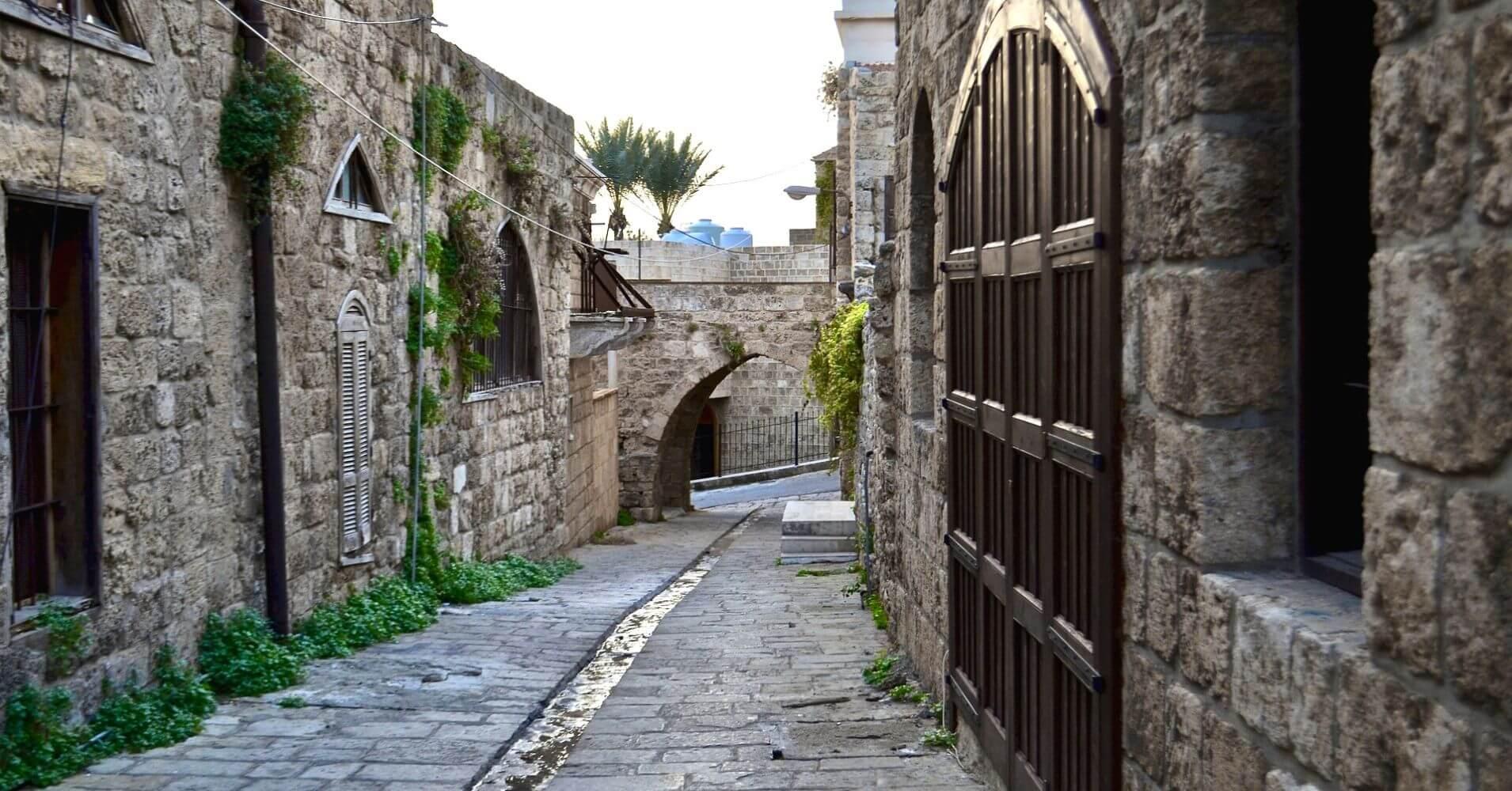 Ciudad Romana de Biblos. Líbano.