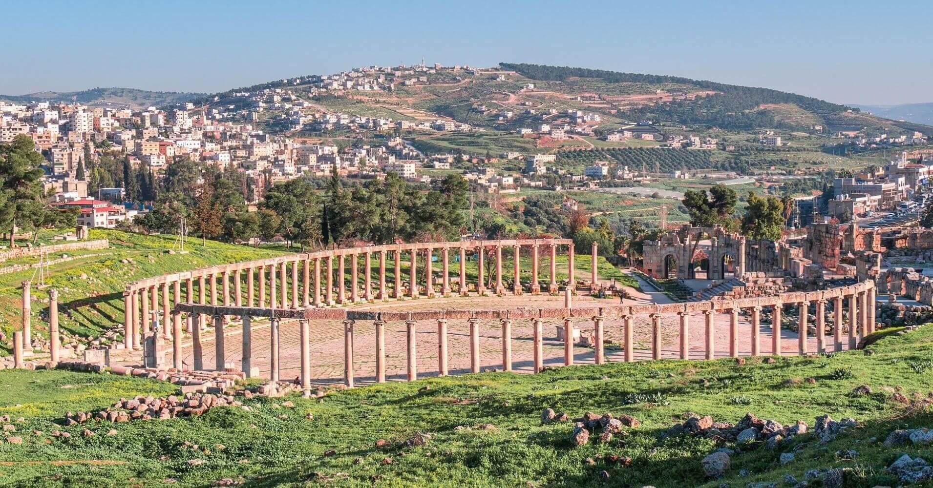 Ciudad Romana de Jerash.