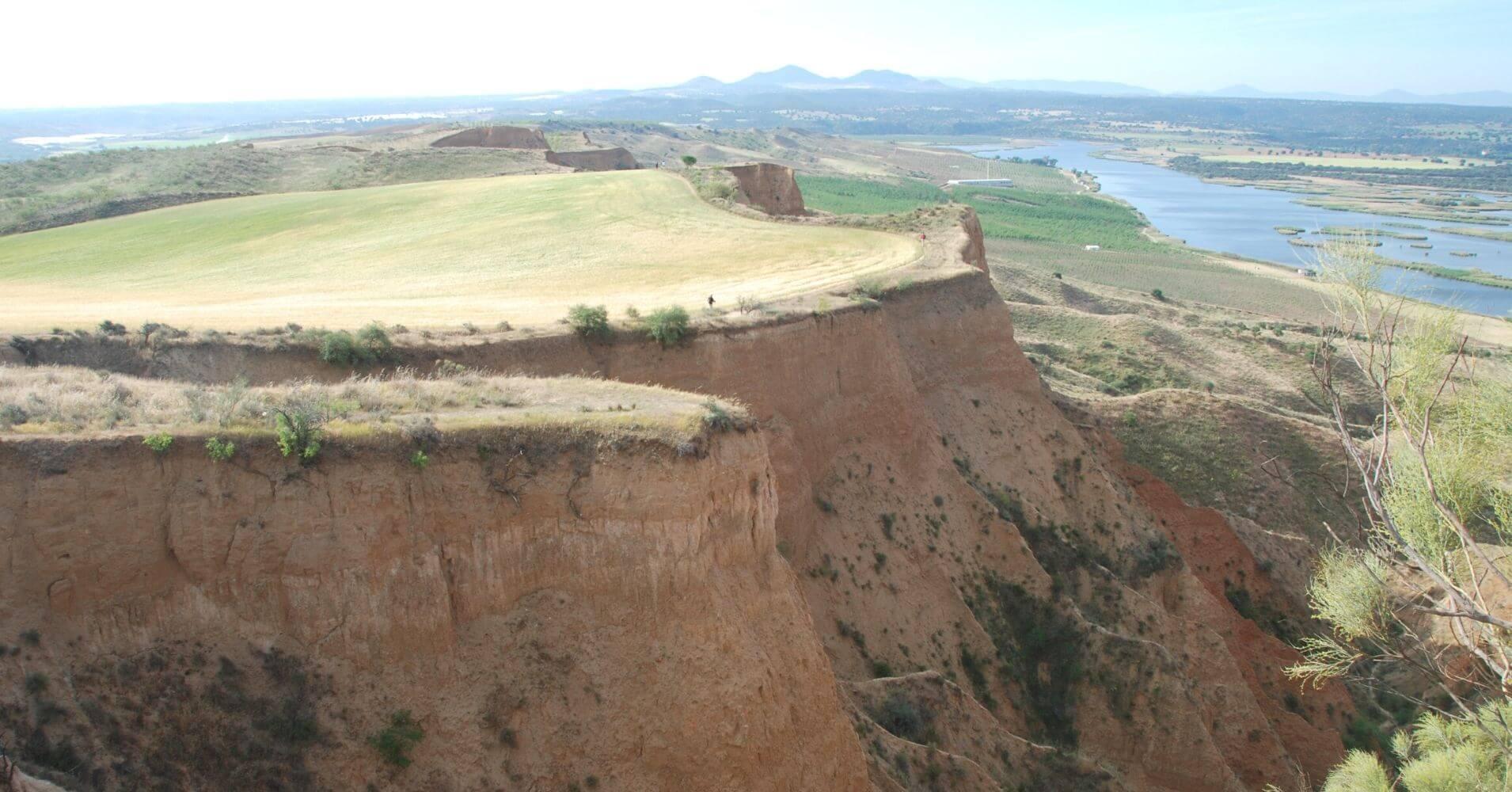 Cortados de las Barrancas de Castrejón. Burujón. Toledo, Castilla la Mancha.