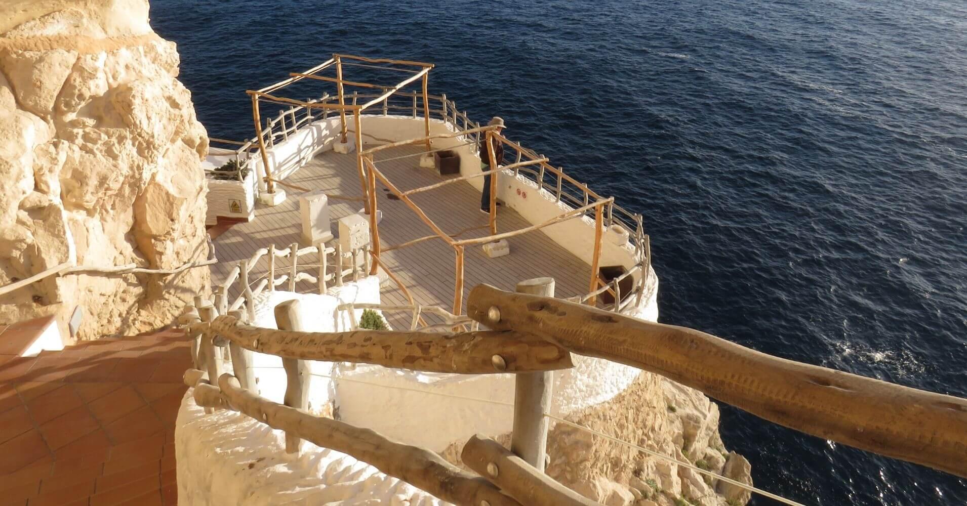 Cova d' en Xoroi. Menorca, Islas Baleares.