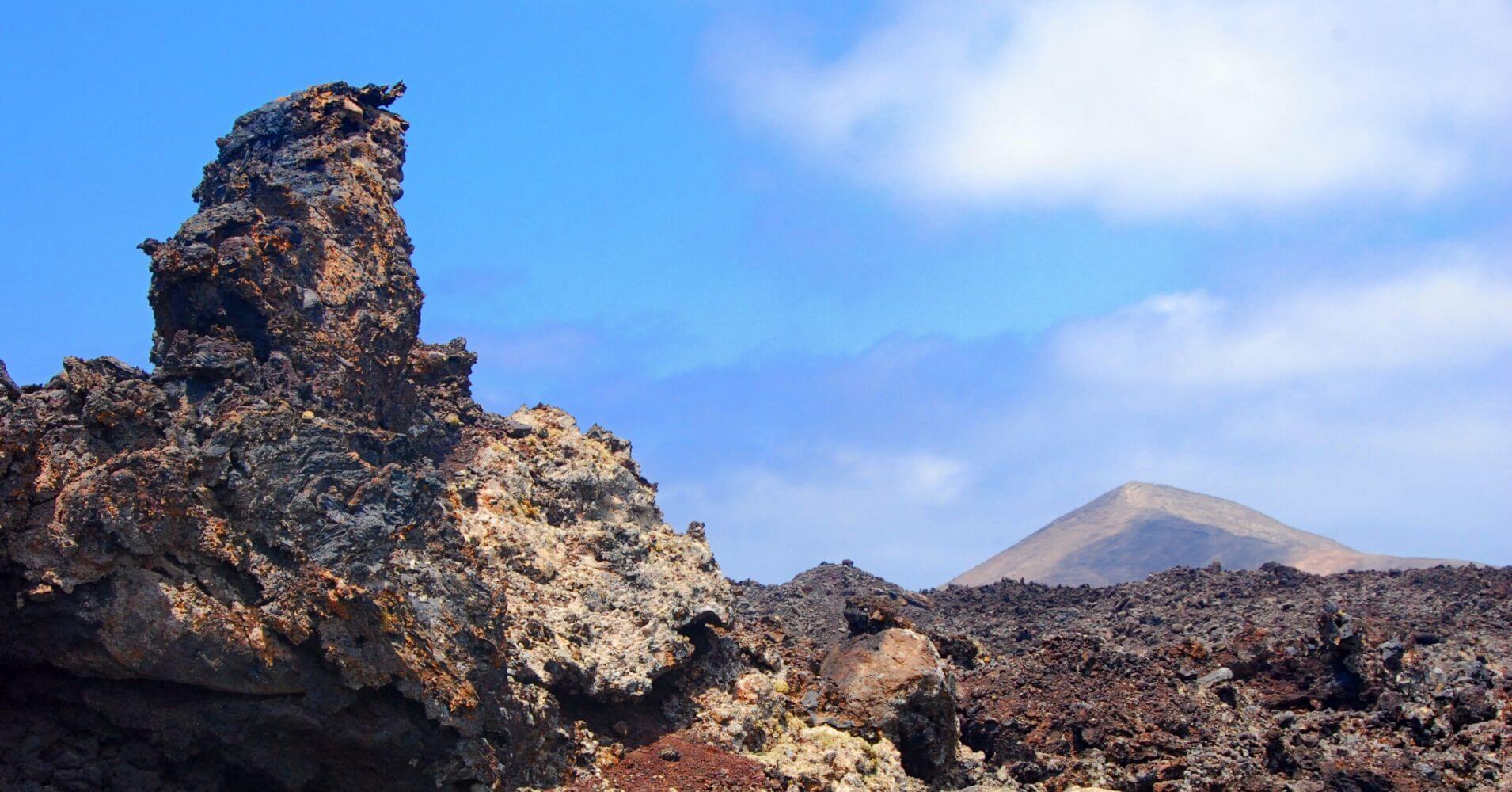 Cráteres y Montañas de Fuego. Lanzarote. Islas Canarias.