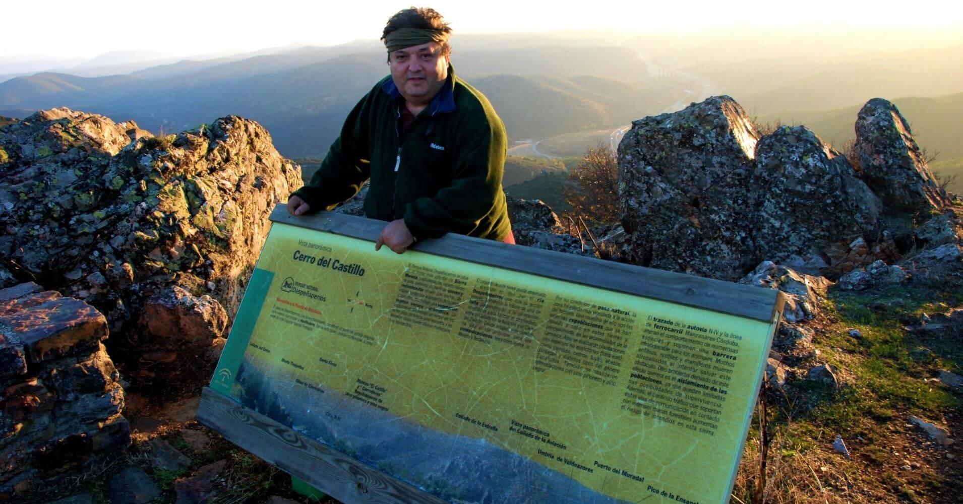 Cumbre del Cerro del Castillo. Parque Natural de Despeñaperros. Jaén.