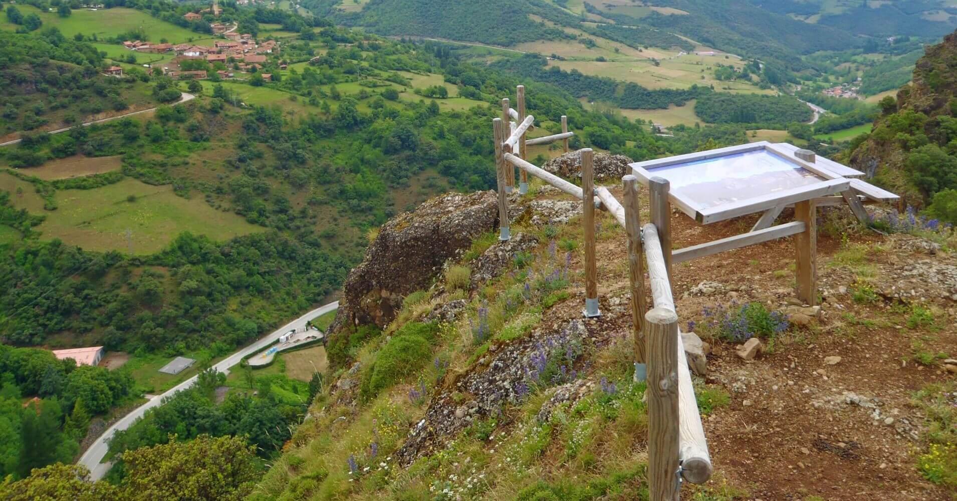 Cumbre Monte Subide final de la vía. Los Llanos, Picos de Europa. Cantabria.