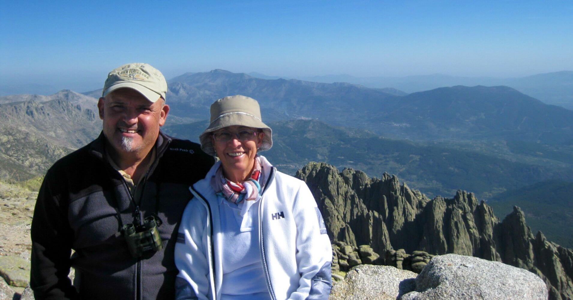 Cumbre del Pico de la Mira de Gredos. Ávila. Castilla y León.