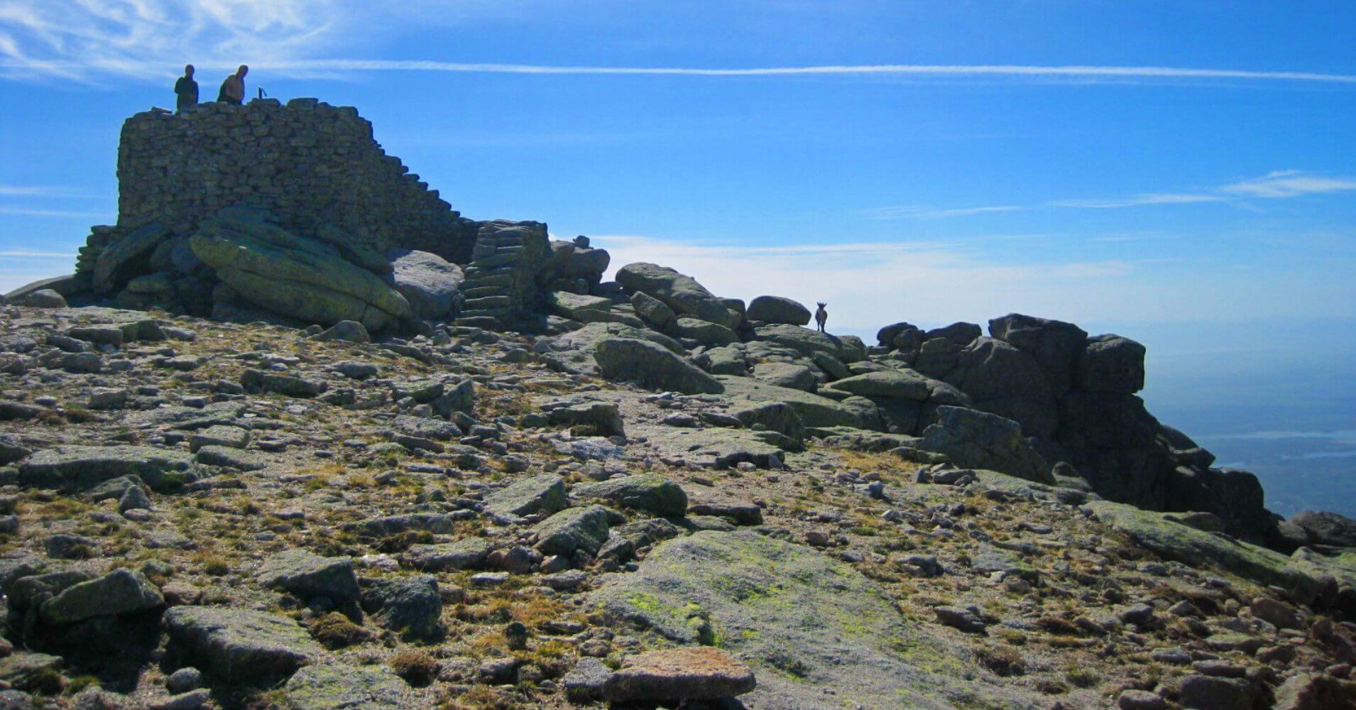 Cumbre del Pico de la Mira. Sierra de Gredos. Ávila. Castilla y León.