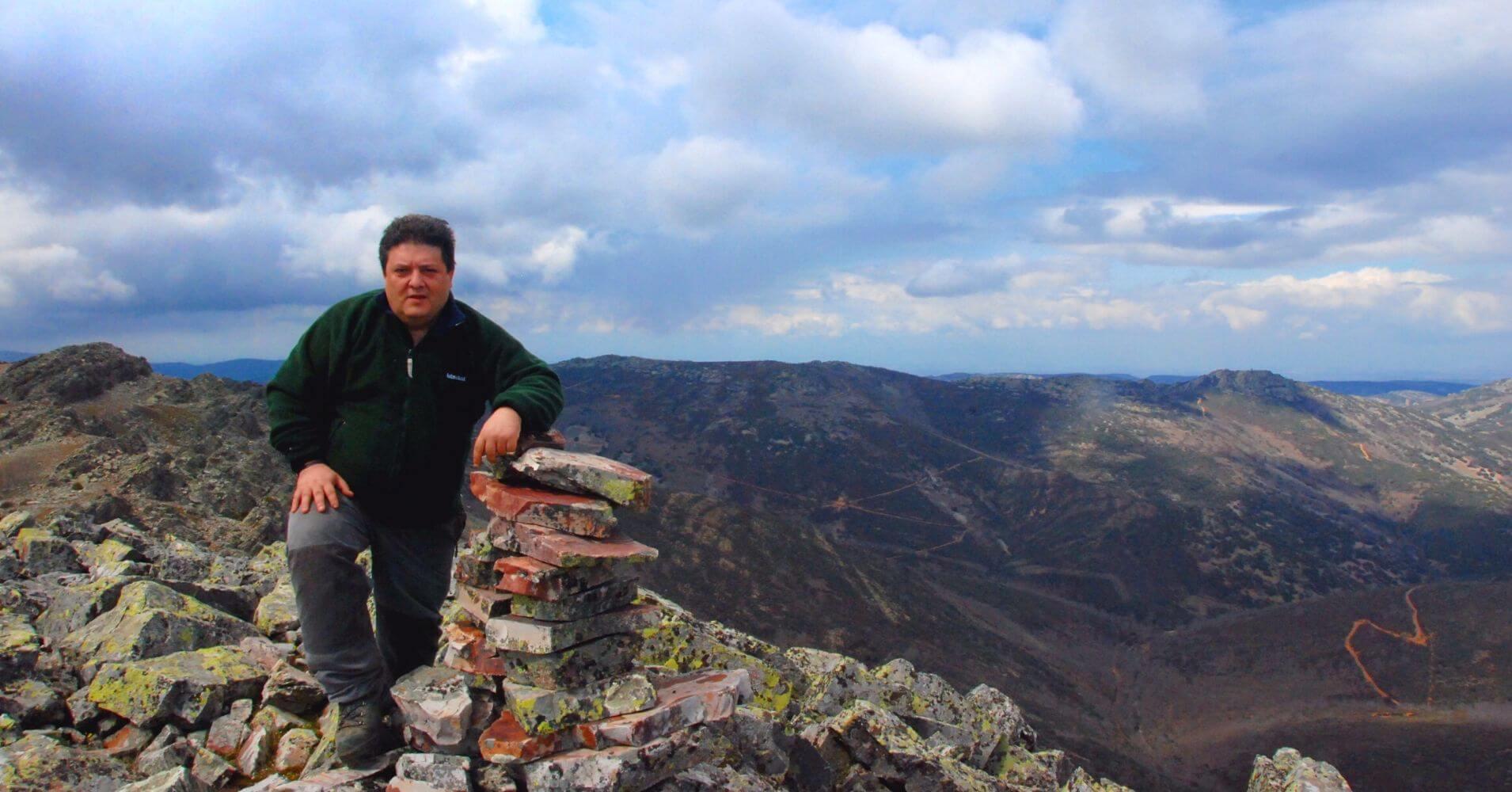 Cumbre del Pico Rocilgalgo. Toledo, Castilla la Mancha.