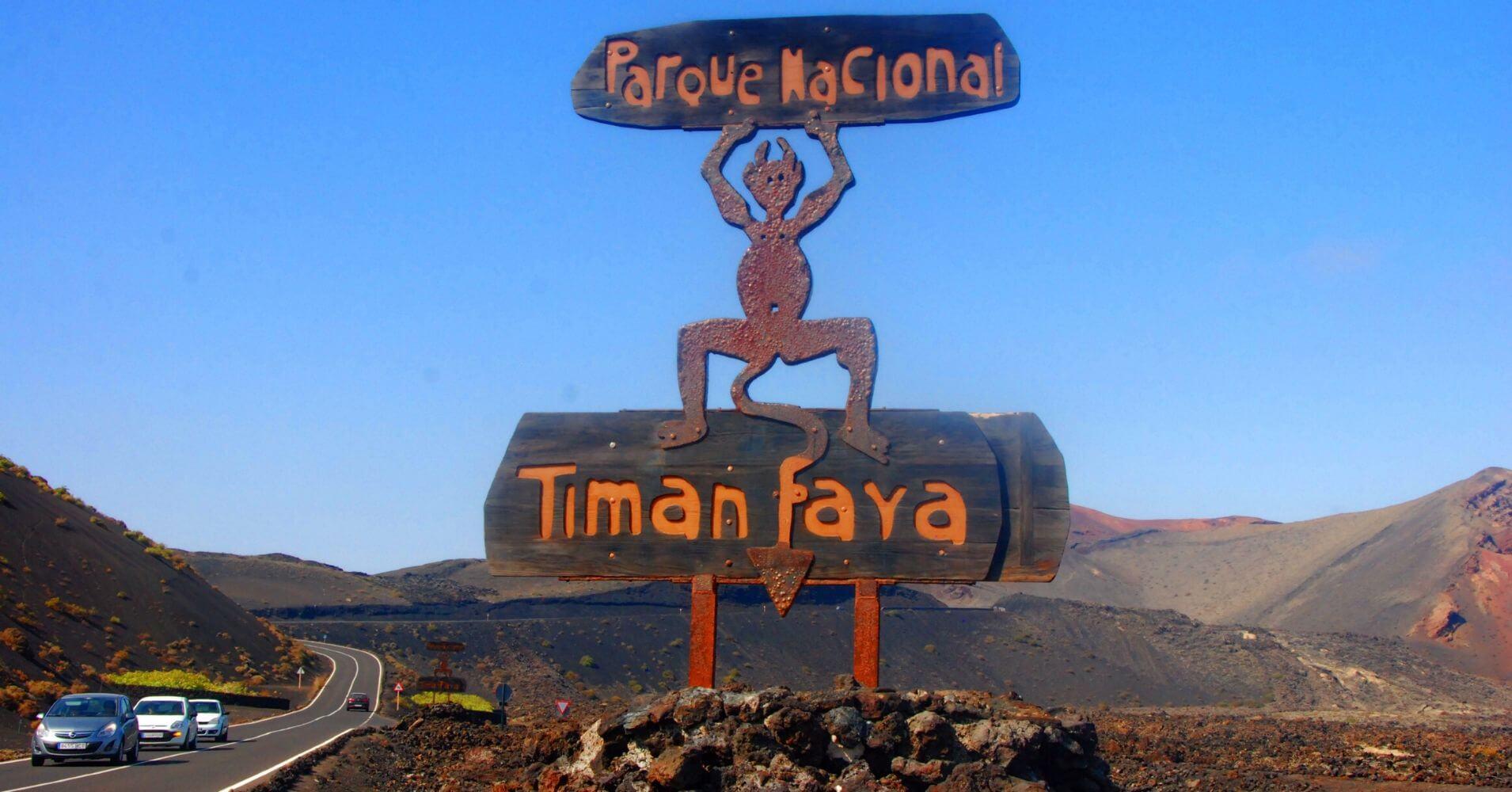 Demonio del Parque Nacional de Timanfaya. Lanzarote, Islas Canarias.