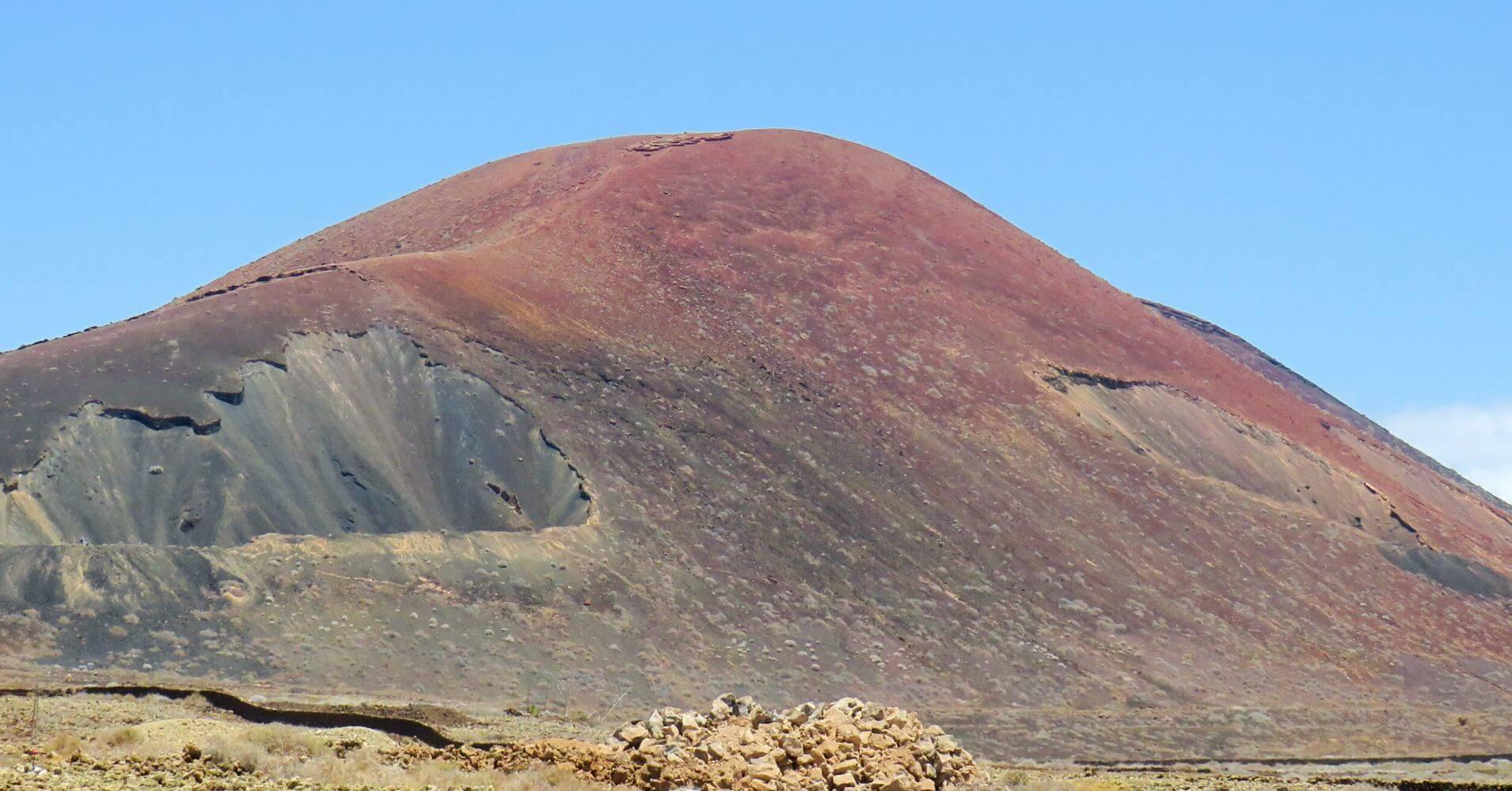 El Calderón Hondo. Isla de Fuerteventura. Islas Canarias.