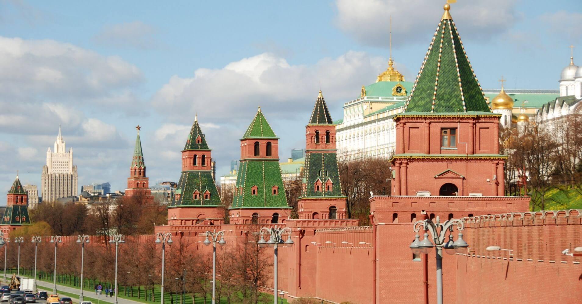 Muros del Kremlim, Rusia.