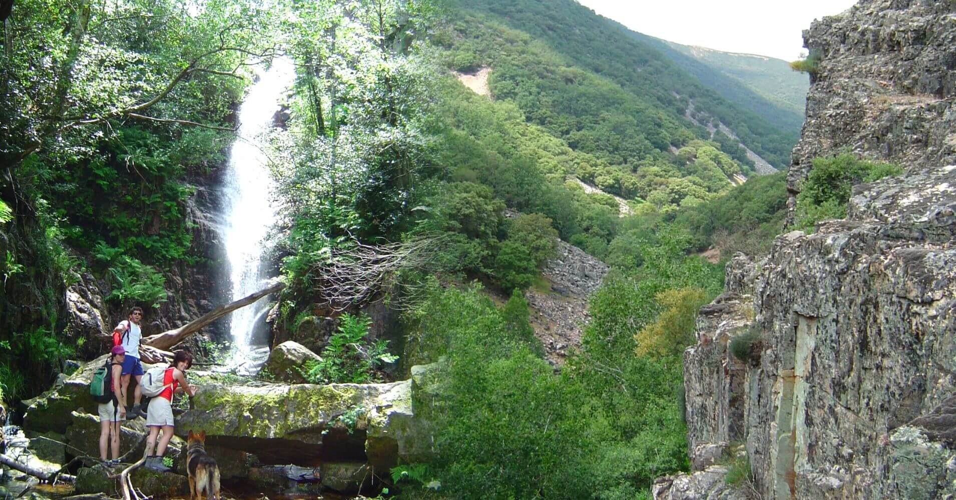 Entorno de la Cascada del Chorro. Parque Nacional de Cabañeros, Los Navalucillos, Castilla la Mancha.