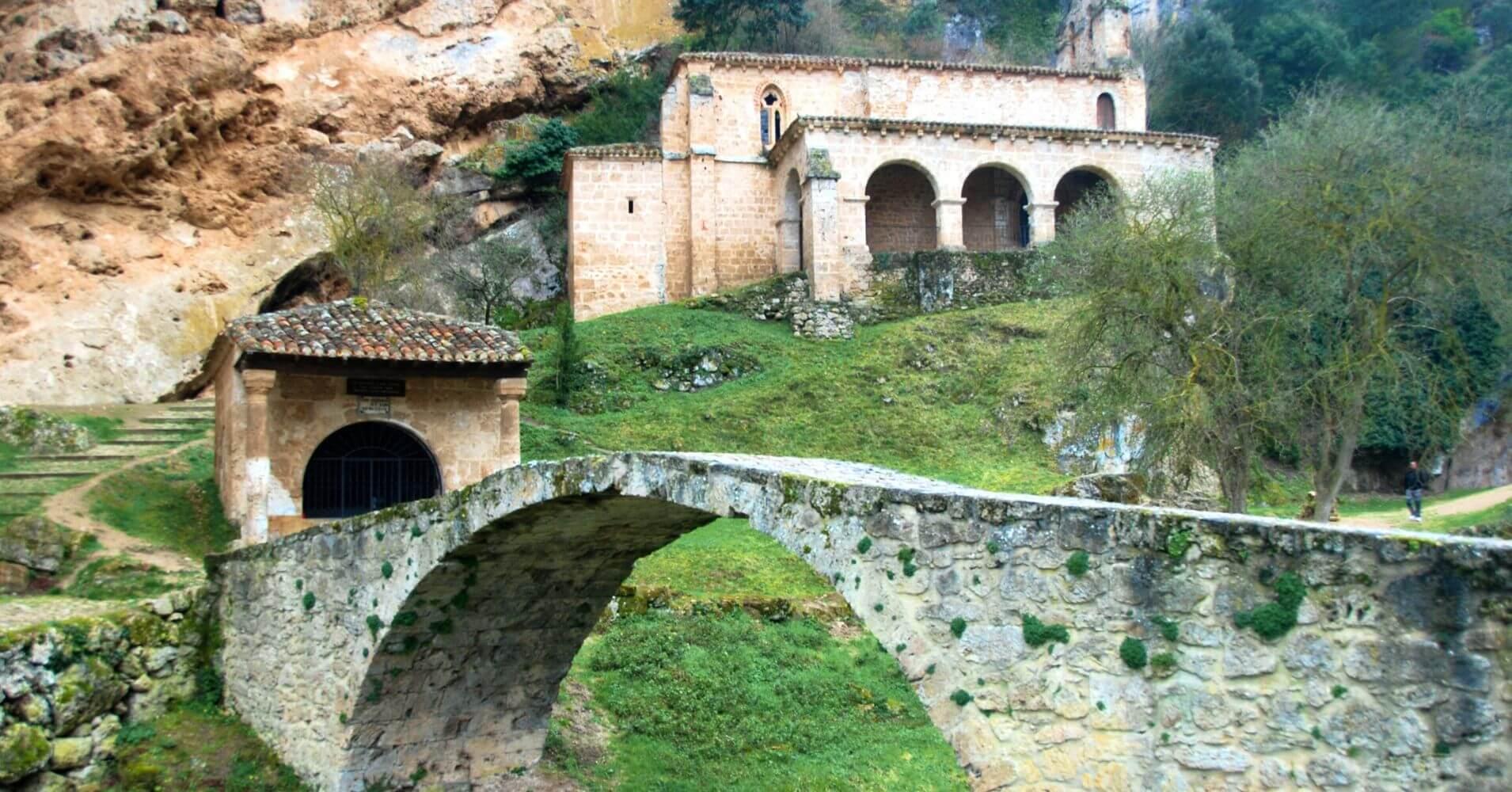 Viaje a las Merindades, Ermita de Nuestra Señora de la Hoz. Tobera. Burgos.