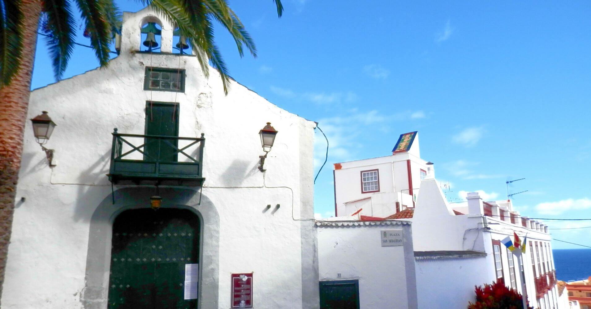 Ermita de San Sebastián. La Palma a ritmo lento, Islas Canarias.
