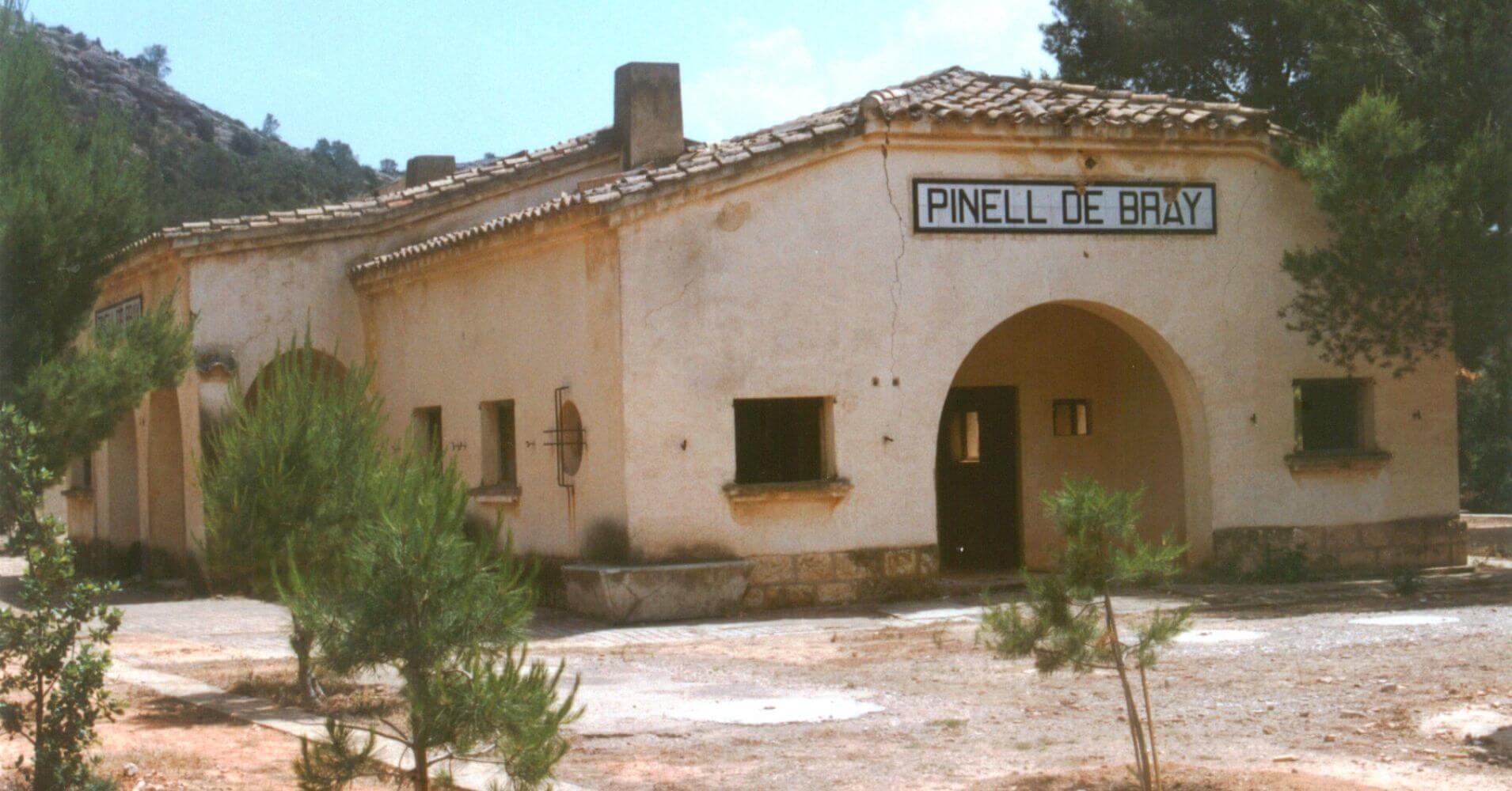 Estación de Pinell de Bray. Tarragona, Cataluña.