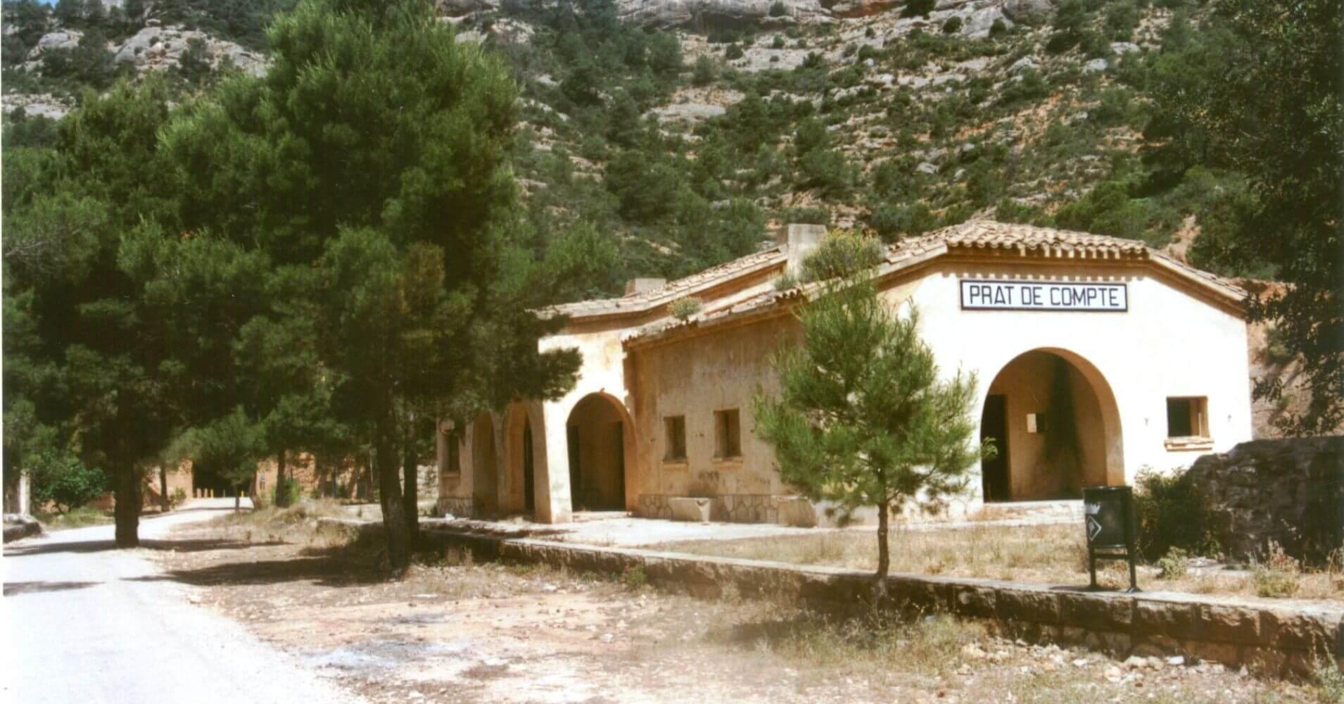 Estación de Prat de Compte, Tarragona. Cataluña.