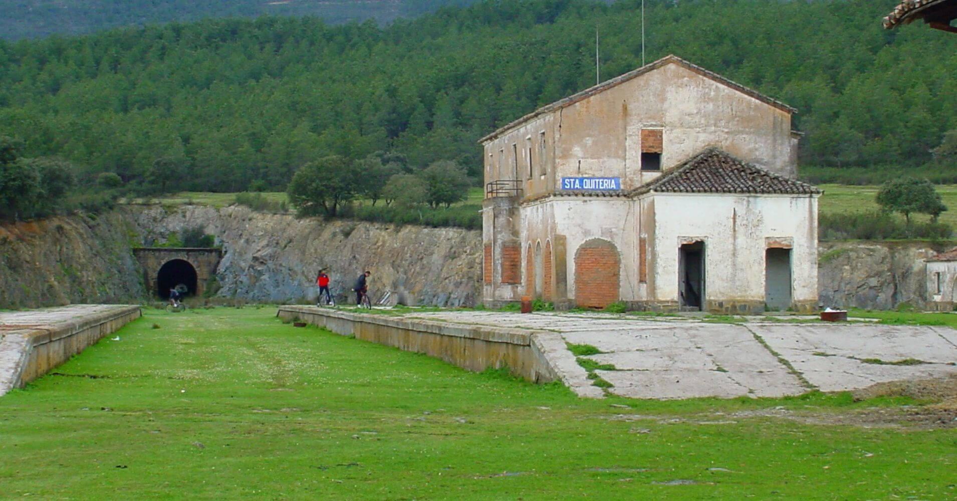Estación de Santa Quiteria. Toledo. Castilla la Mancha.