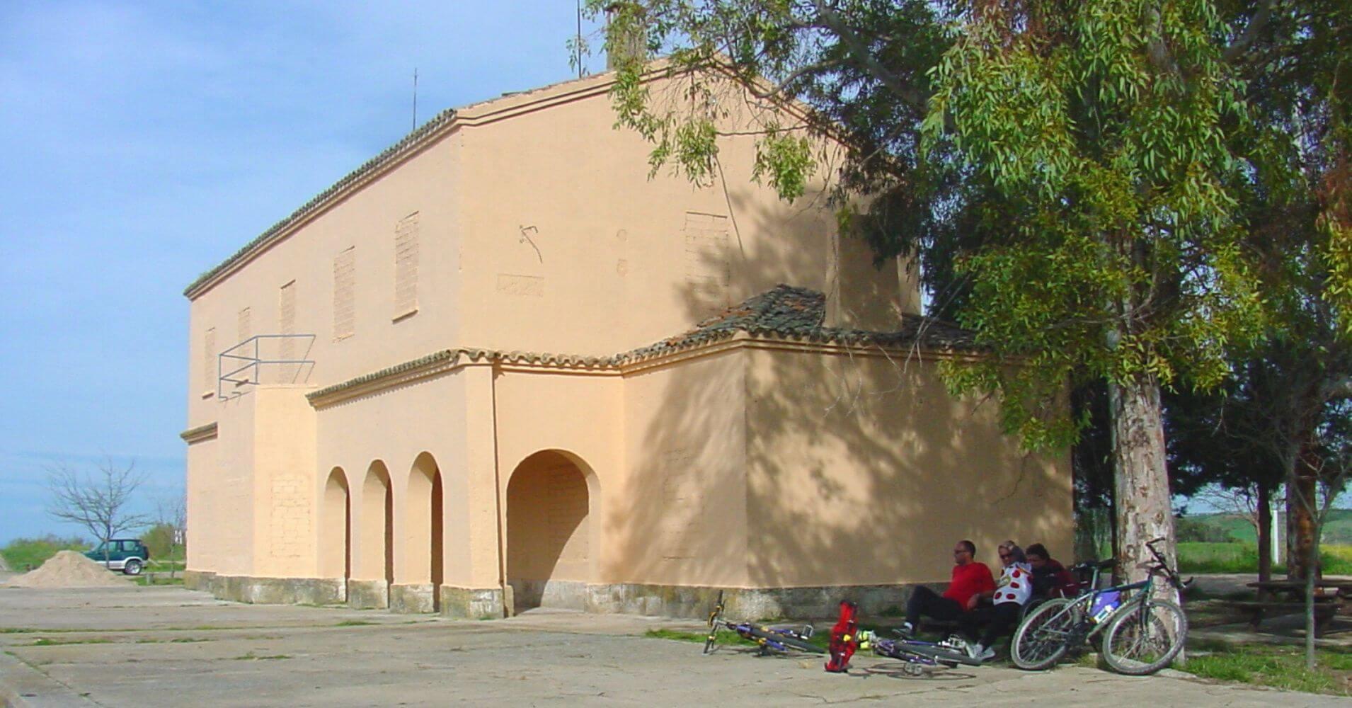 Estación de Silos. Vía Verde de la Jara. Toledo, Castilla la Mancha.