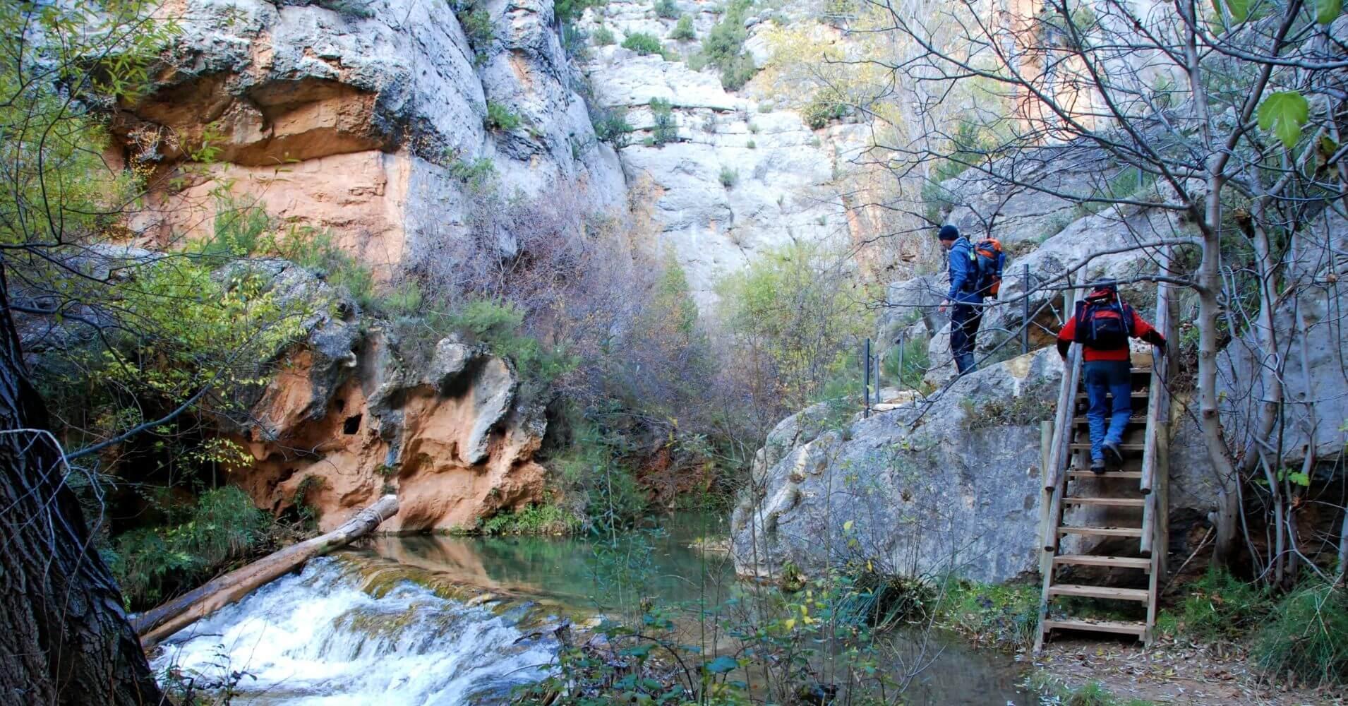 Estrechos del Río Ebrón. El Cuervo. Teruel, Aragón.