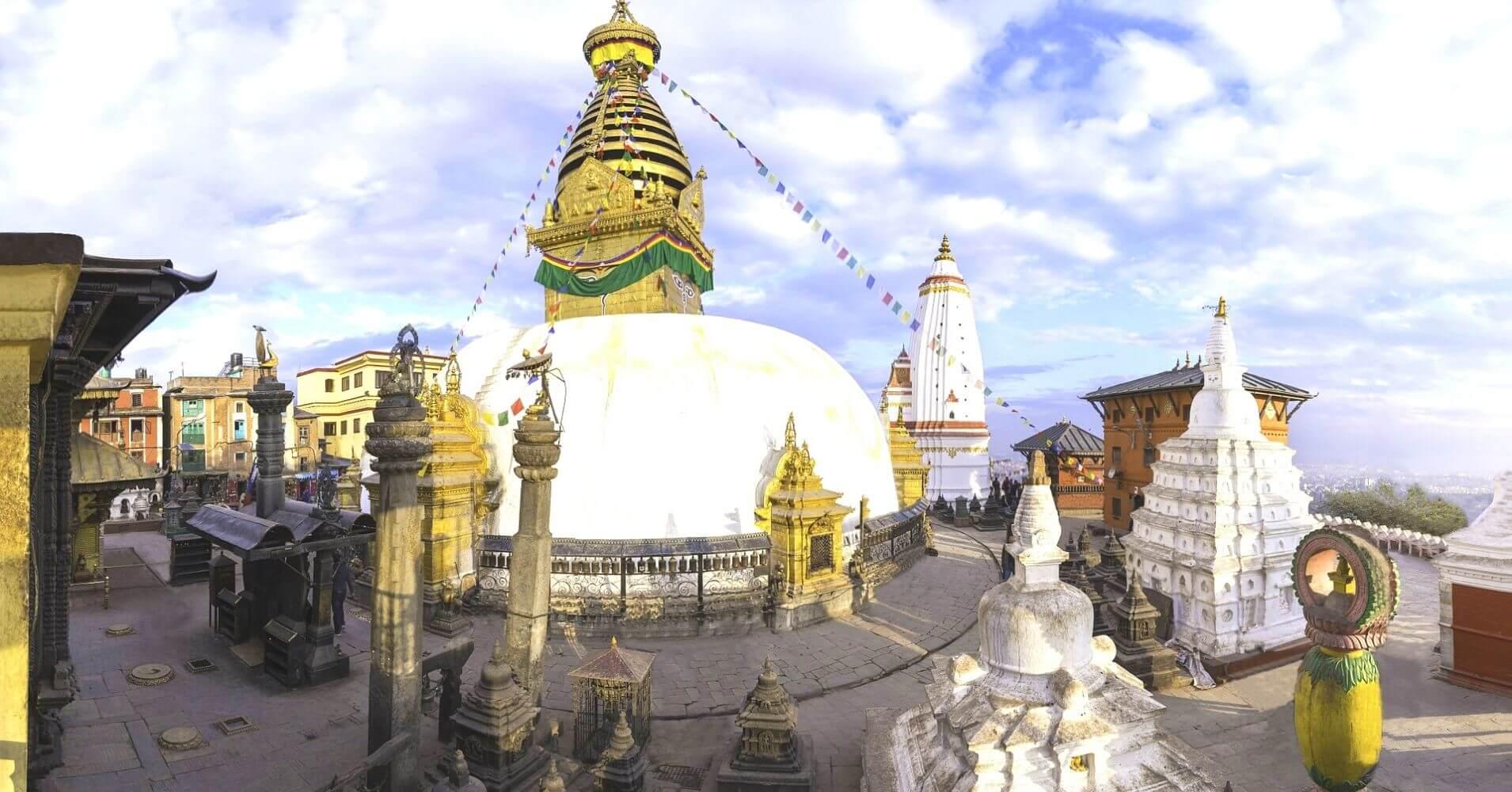 Estupa. Katmandú, Viajar a Nepal.