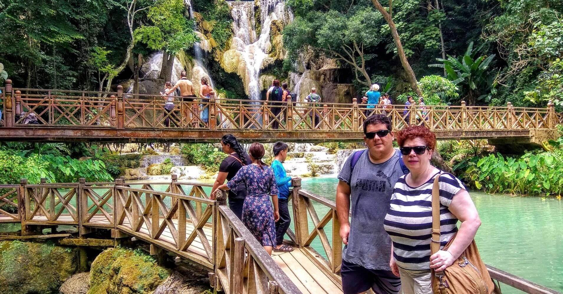 Excursión a las Cascadas de Kuang Si. Laos.